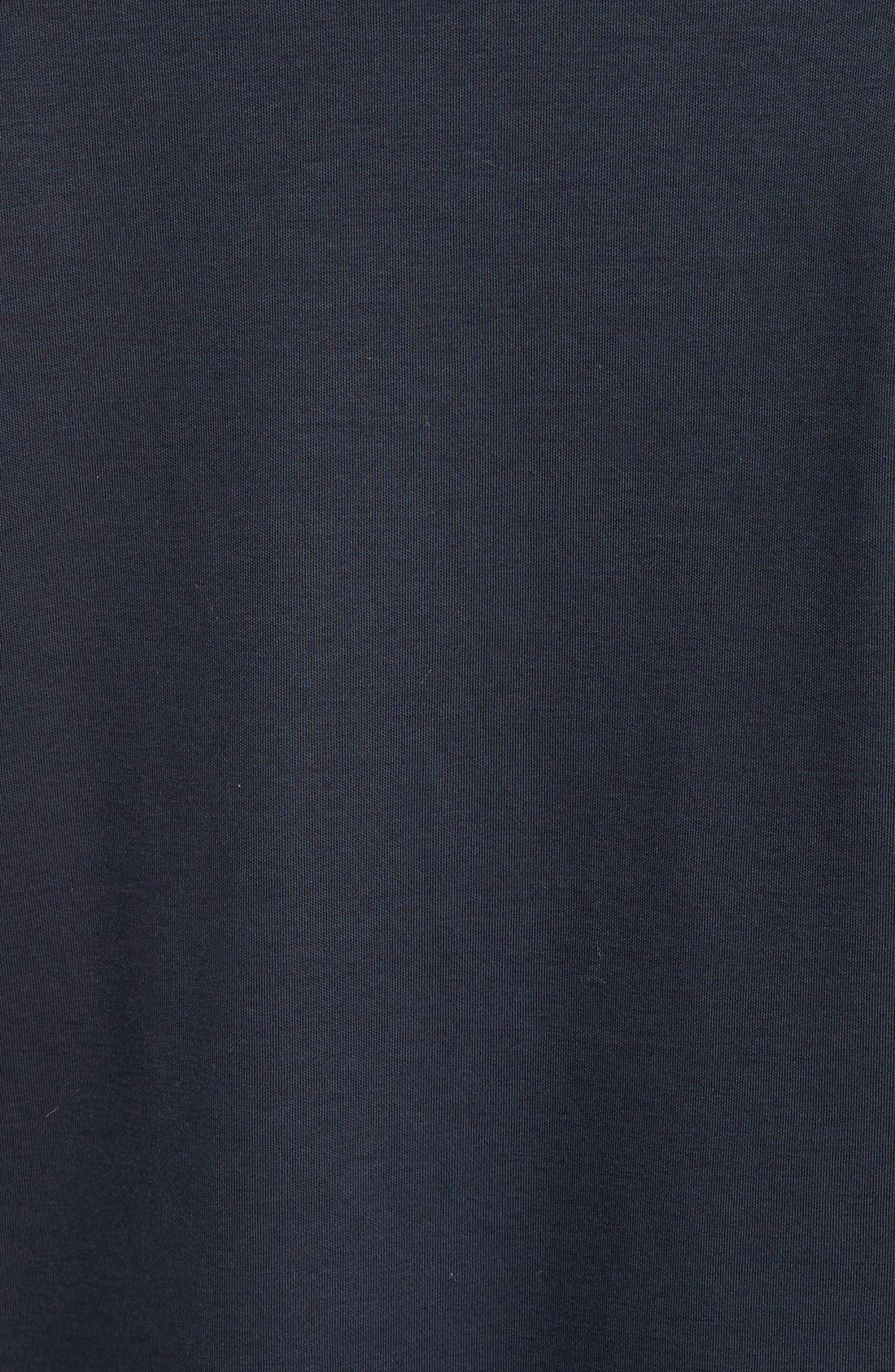 Alternate Image 5  - Armani Collezioni Cotton Interlock Polo