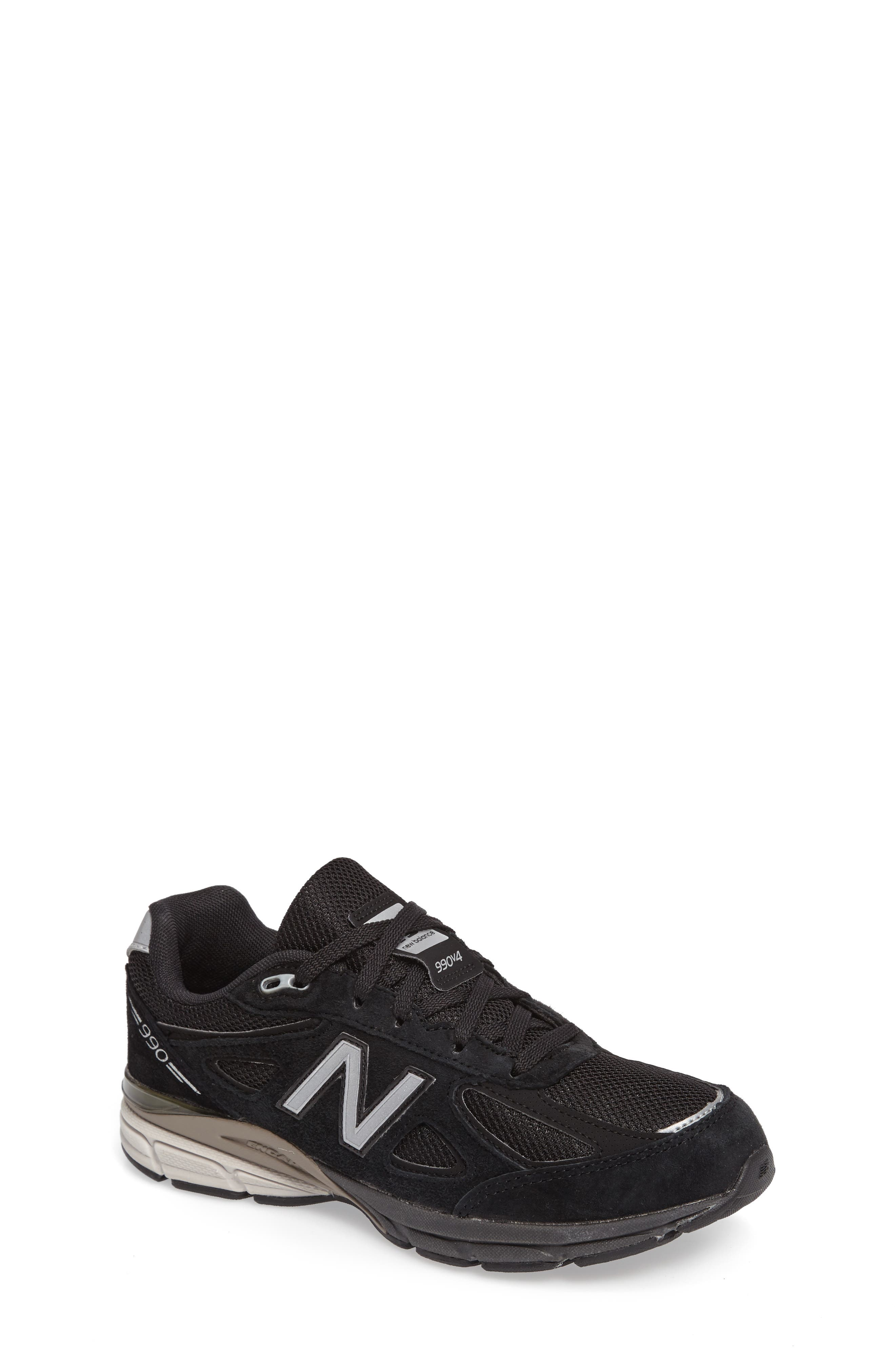 New Balance 990v4 Sneaker (Big Kid)