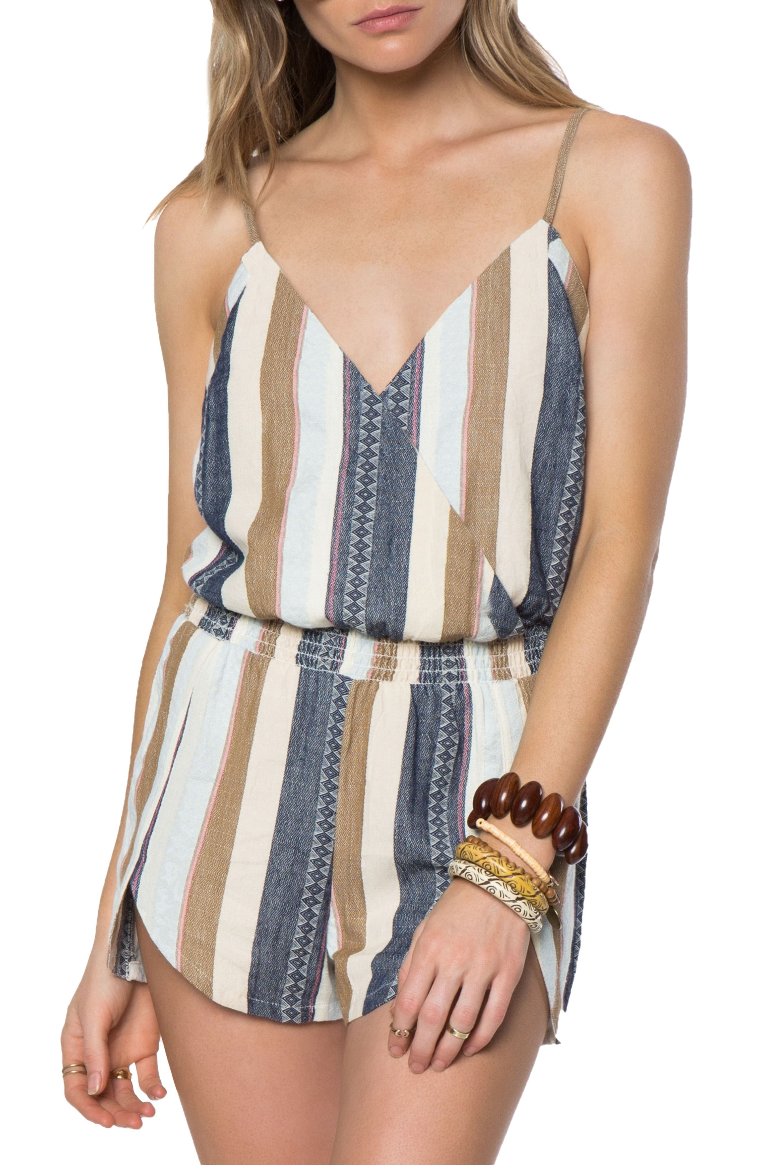 Alternate Image 1 Selected - O'Neill Brenda Romper