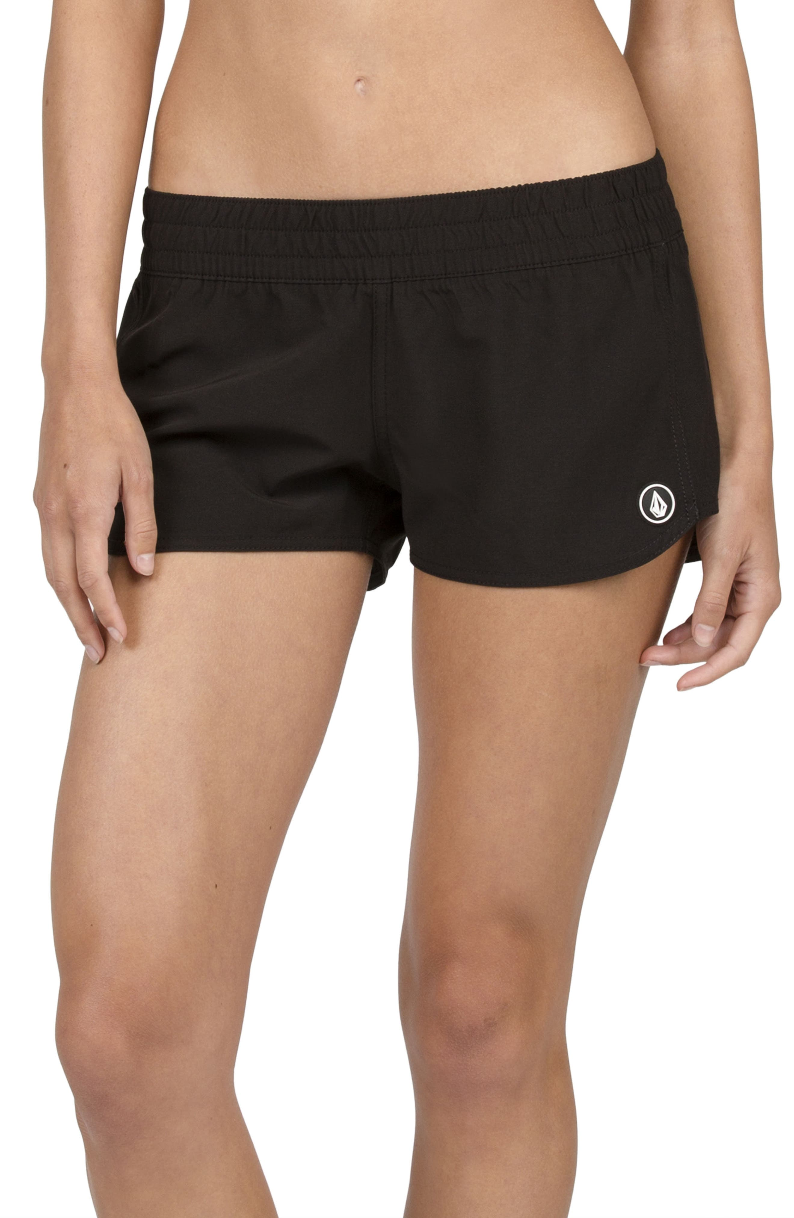 Simply Solid Board Shorts,                             Alternate thumbnail 2, color,                             Black
