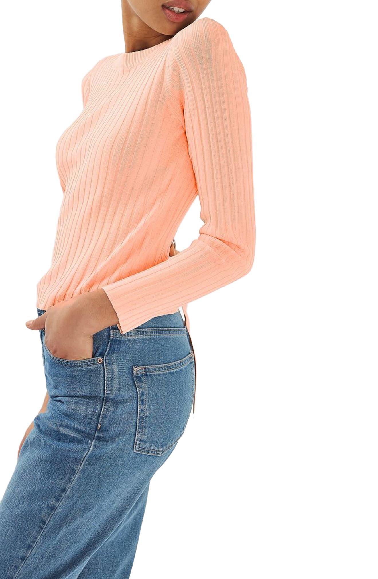Alternate Image 3  - Topshop Strap Back Sweater