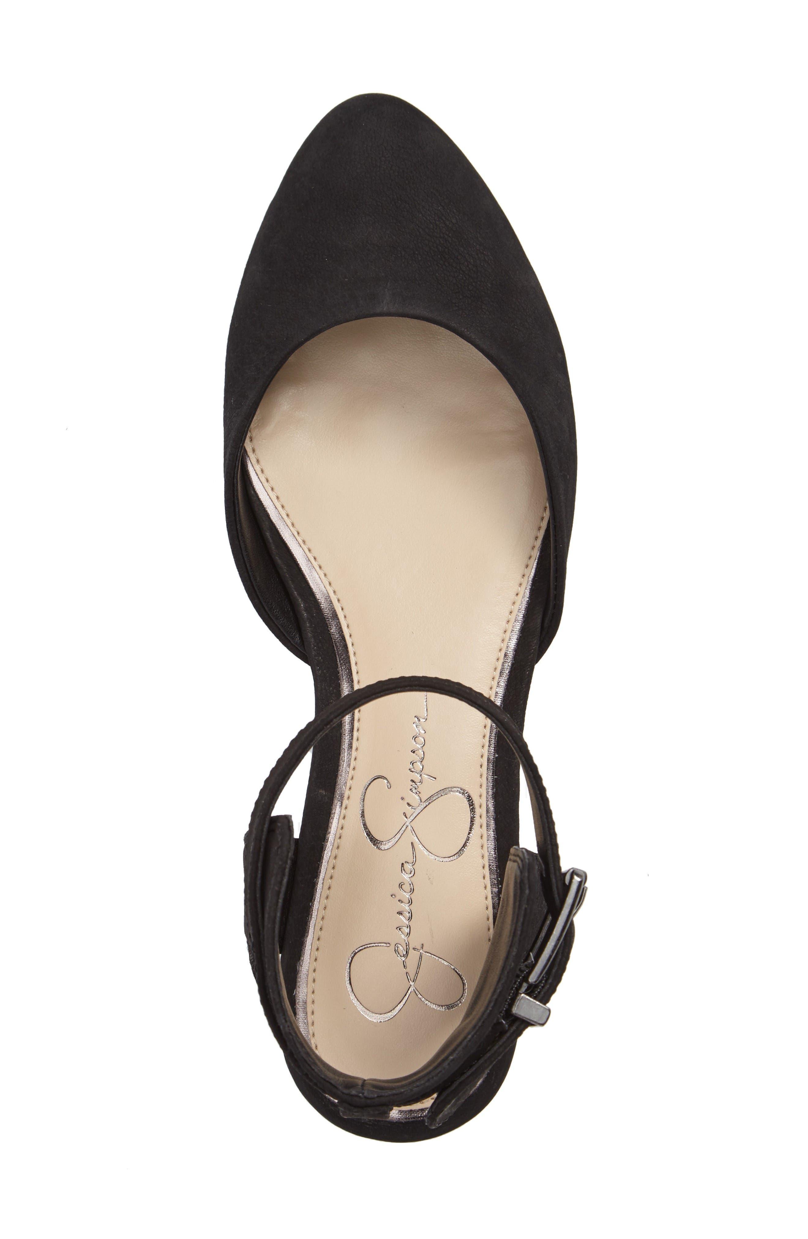 Alternate Image 3  - Jessica Simpson Loranda Ankle Strap Flat (Women)