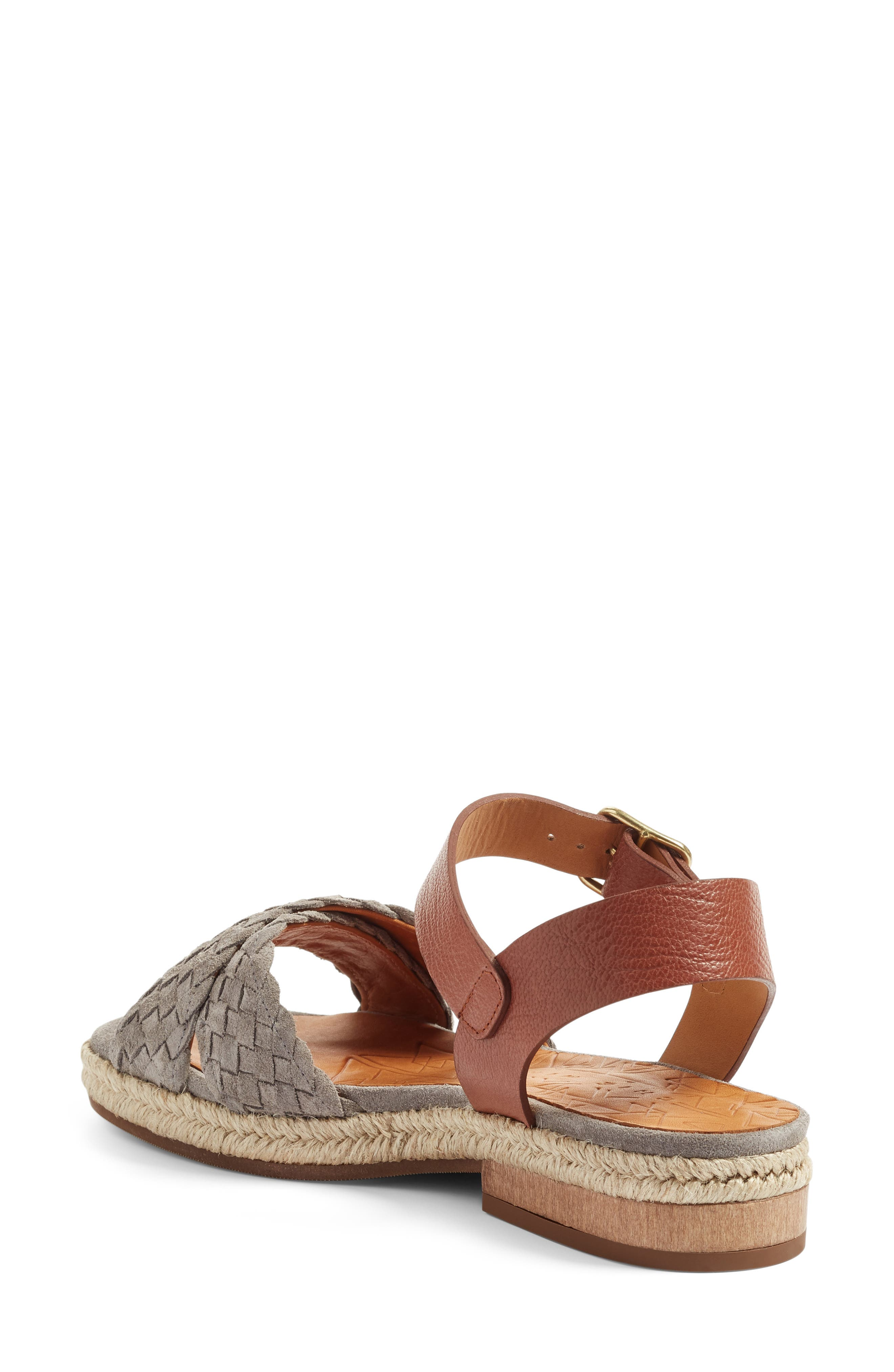 Hena Sandal,                             Alternate thumbnail 2, color,                             Stone/ Castano