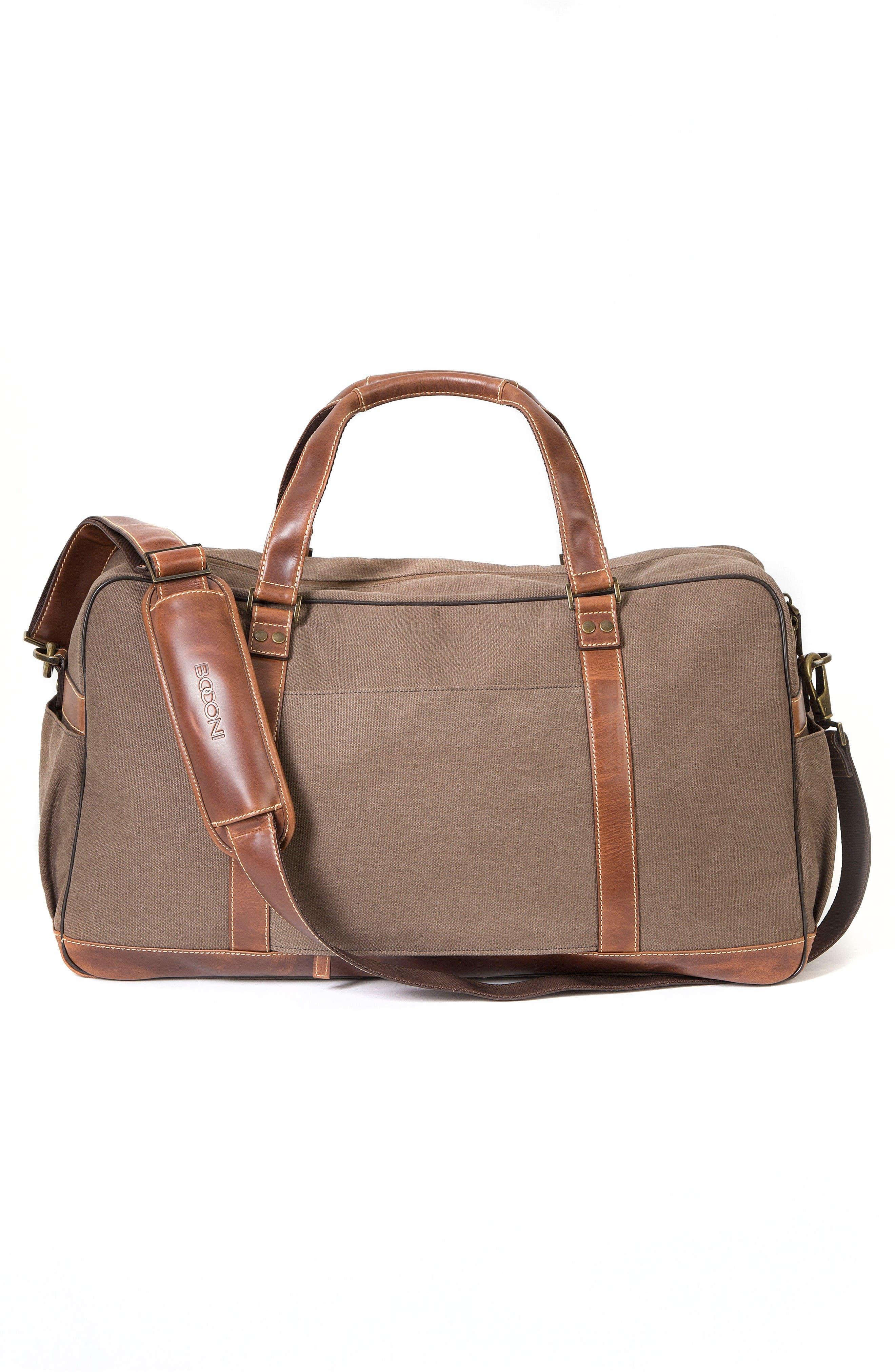 Bryant LTE Getaway Duffel Bag,                             Alternate thumbnail 2, color,                             Antique Mahogany/ Brown