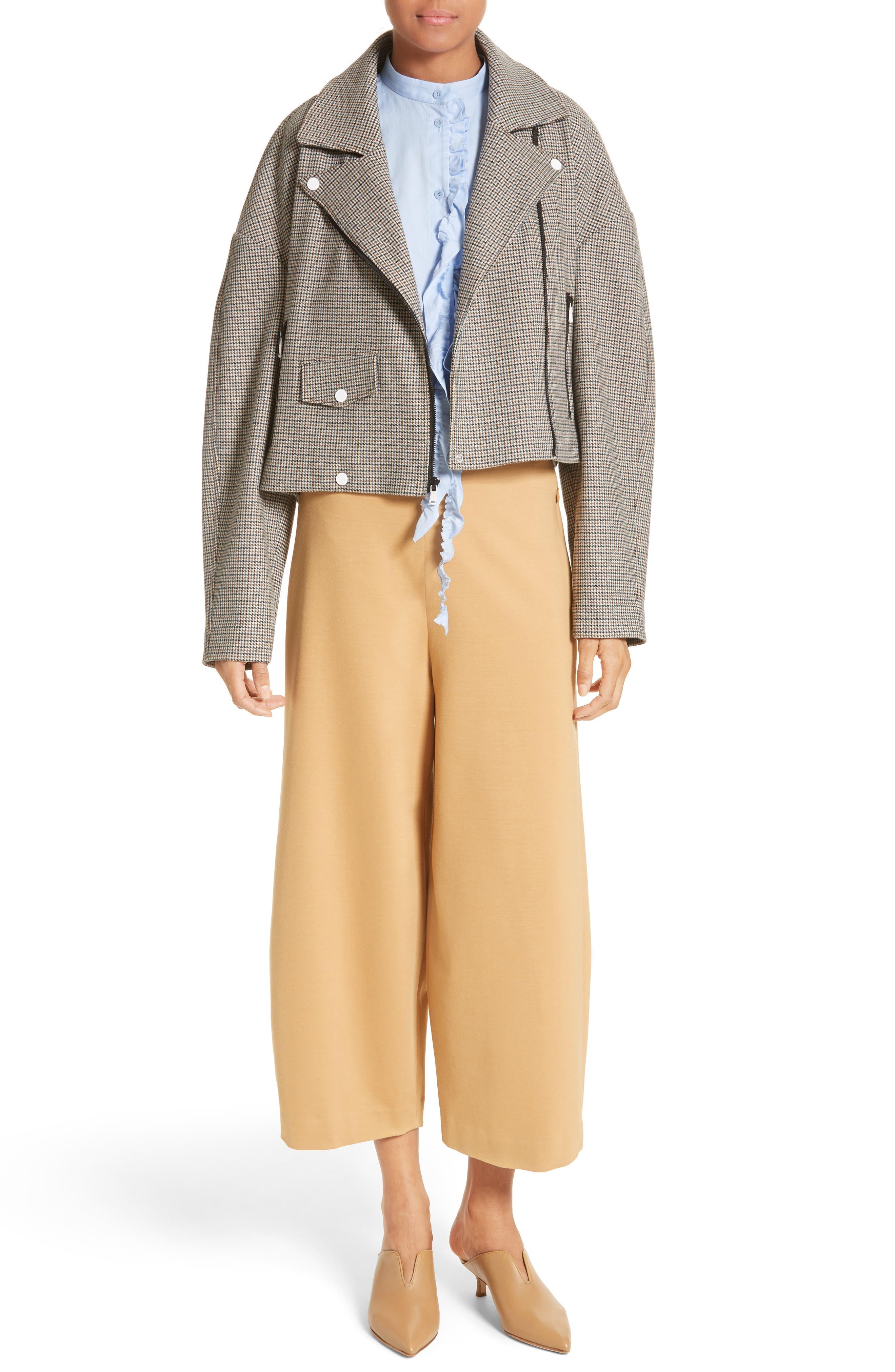 Ruggle Oxford Cotton Shirt,                             Alternate thumbnail 2, color,                             Light Blue