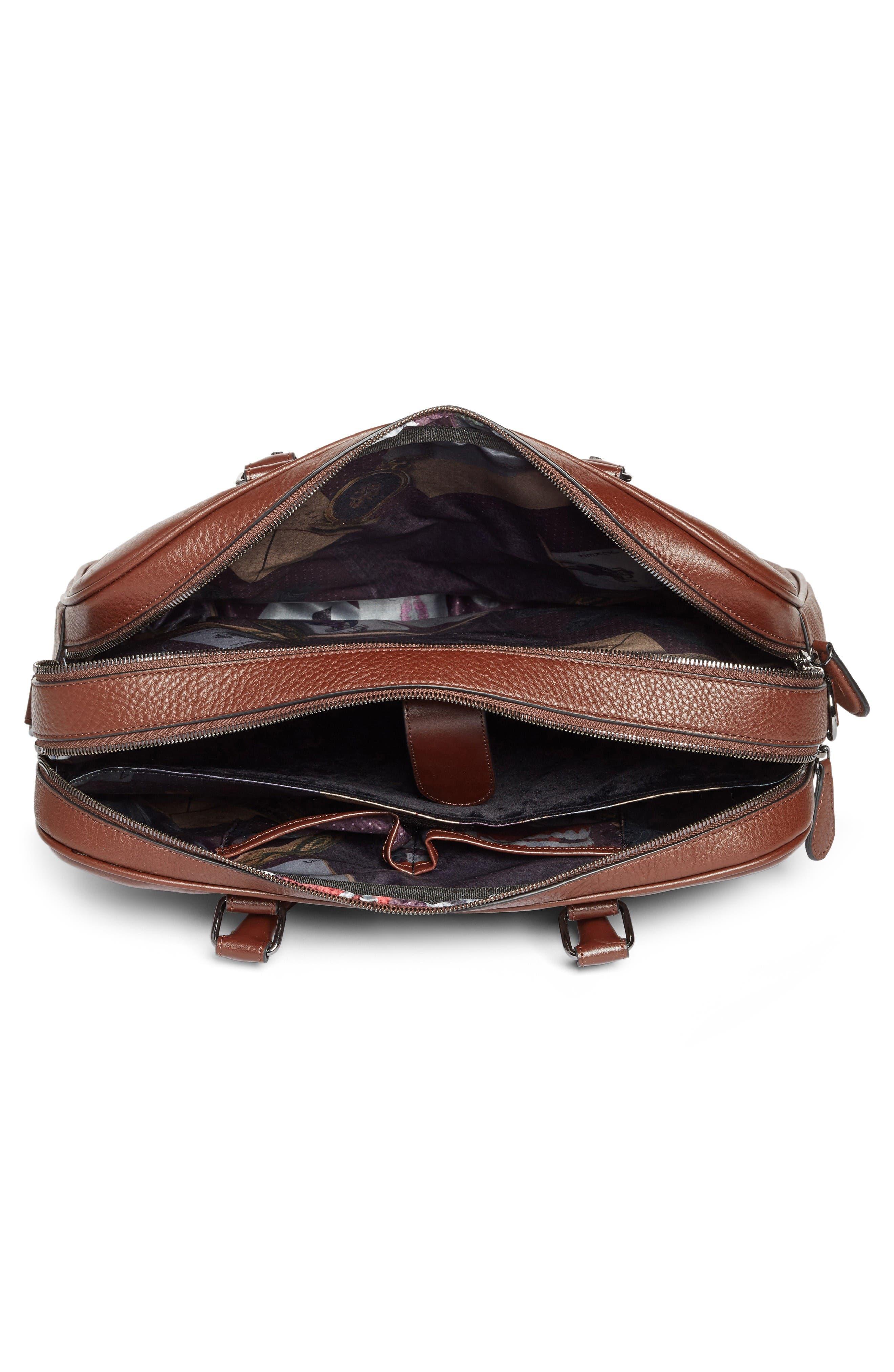 Alternate Image 4  - Ted Baker London Leather Document Bag