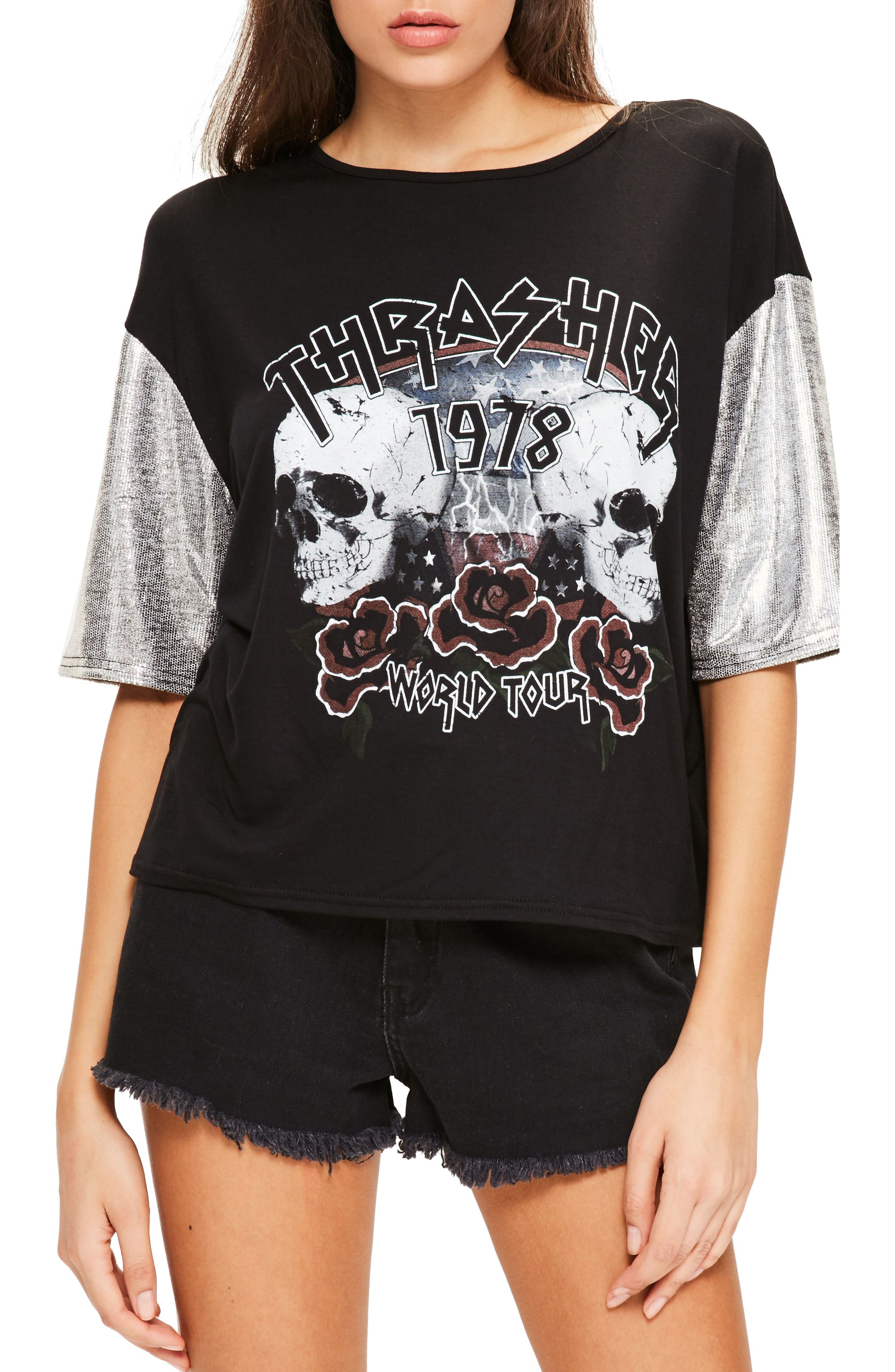 Alternate Image 1 Selected - Missguided Thrasher Tee