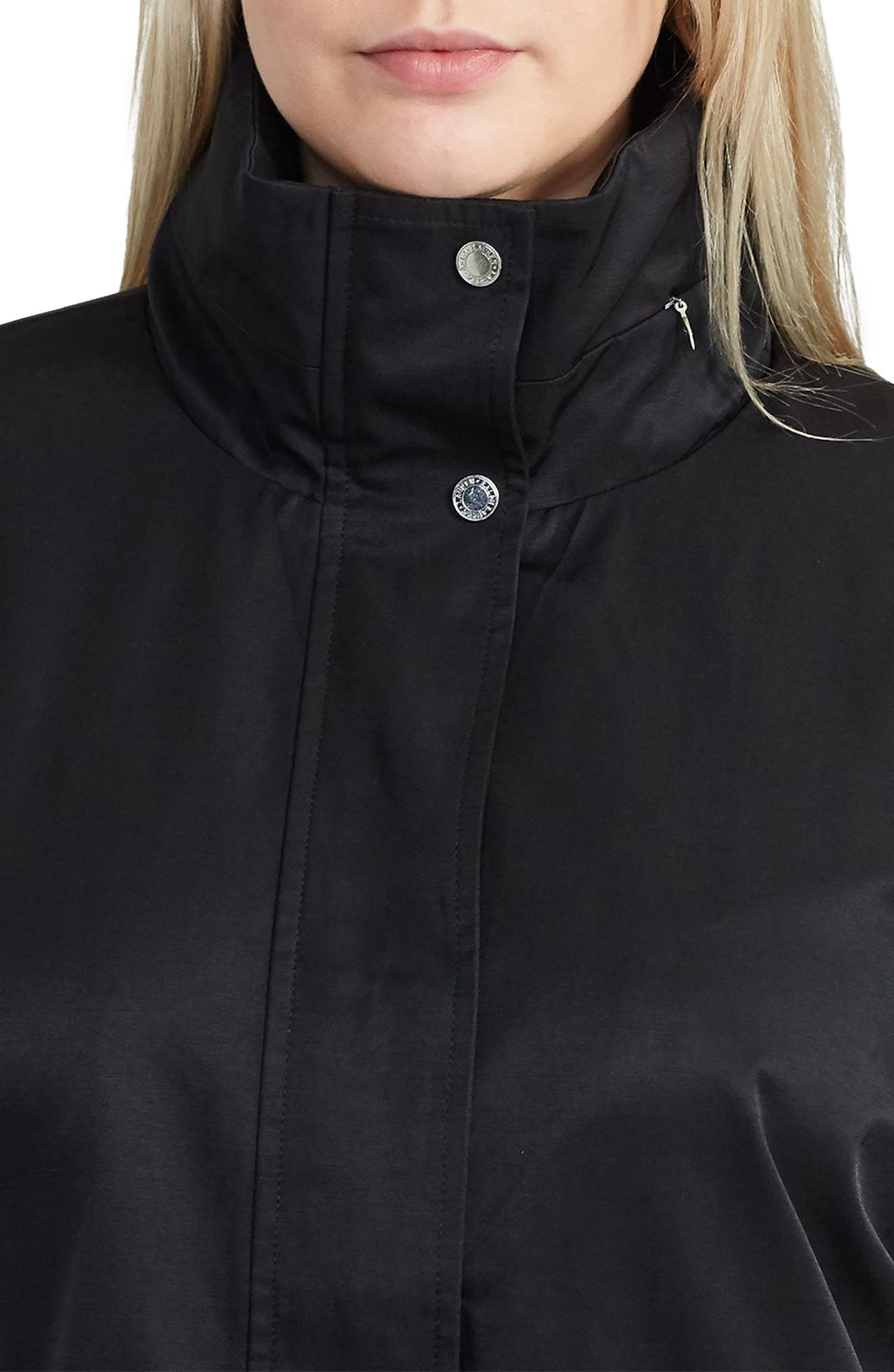 Alternate Image 2  - Lauren Ralph Lauren Hooded Anorak (Plus Size)