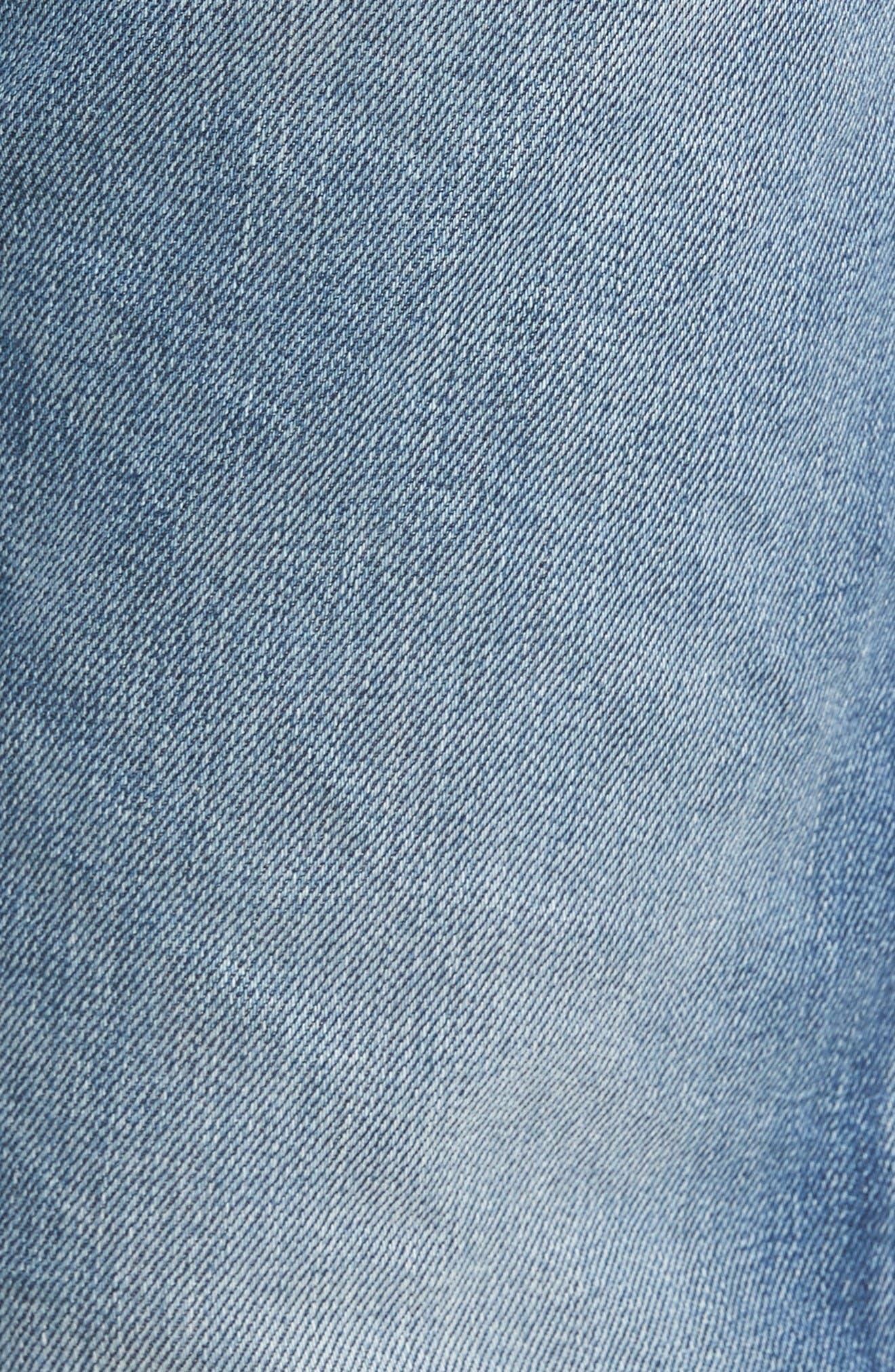 Alternate Image 5  - DIESEL® Waykee Straight Leg Jeans (084DF)