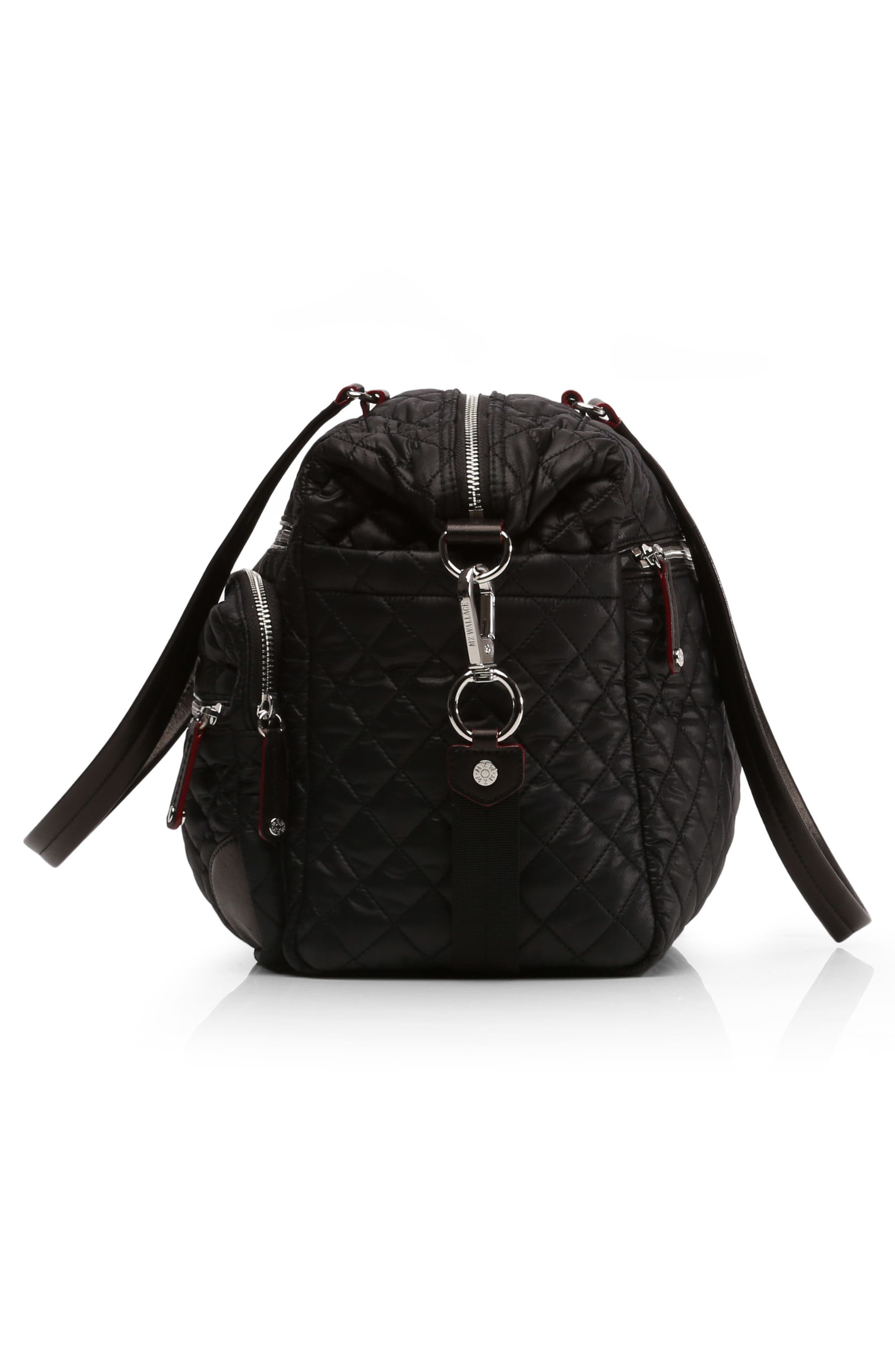 Alternate Image 5  - MZ Wallace Crosby Quilted Traveler Oxford Nylon Diaper Bag