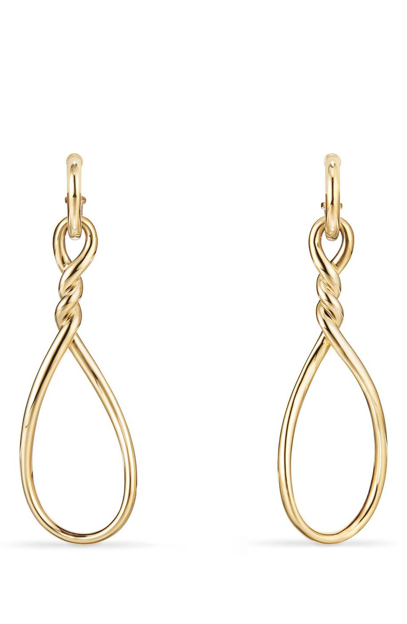 David Yurman Continuance Drop Earrings