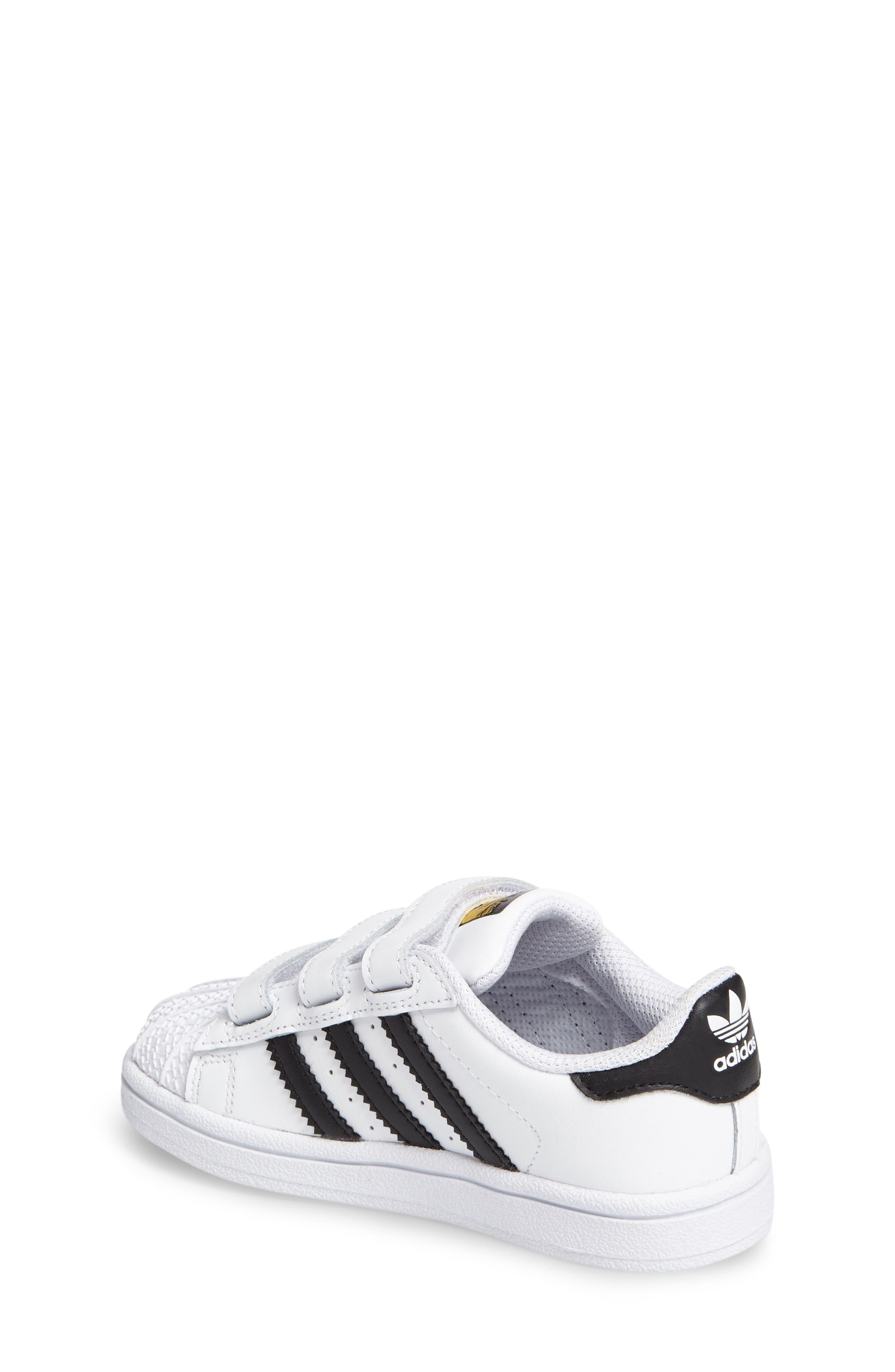 Superstar Foundation Sneaker,                             Alternate thumbnail 2, color,                             White/ Core Black/ White