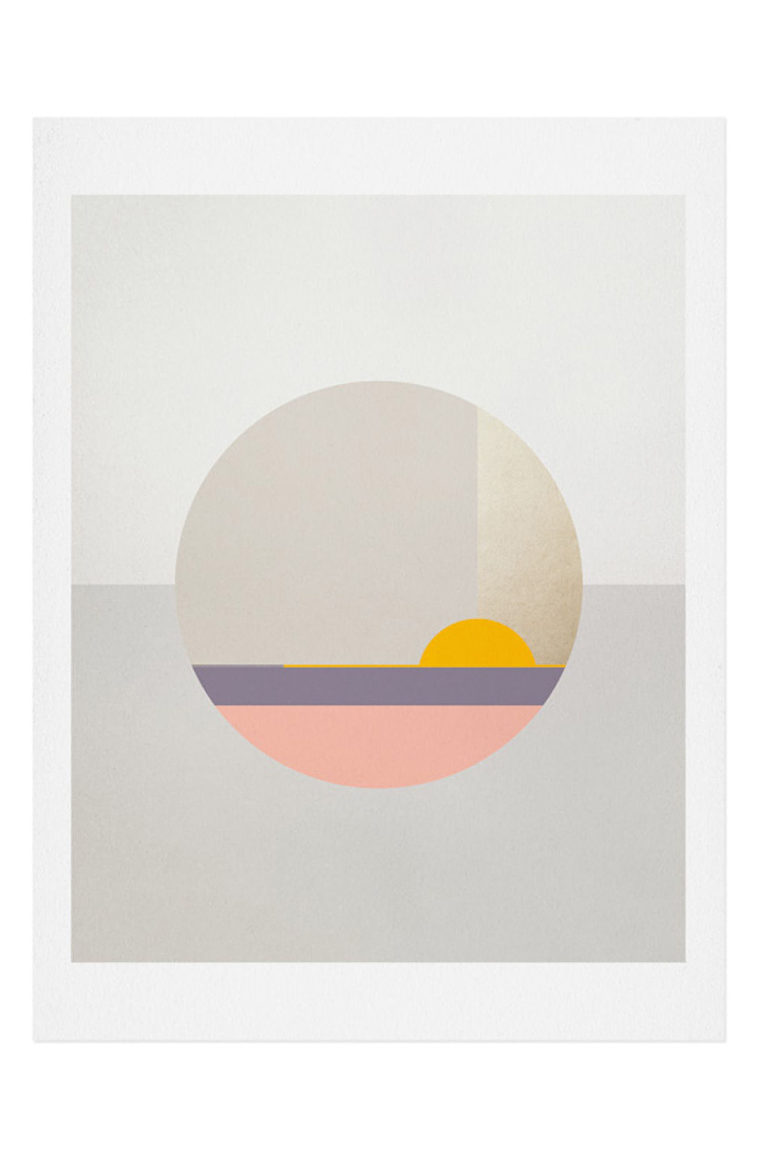 Iveta Abolina - Bloc de Couleur II Art Print,                             Main thumbnail 1, color,                             Multi