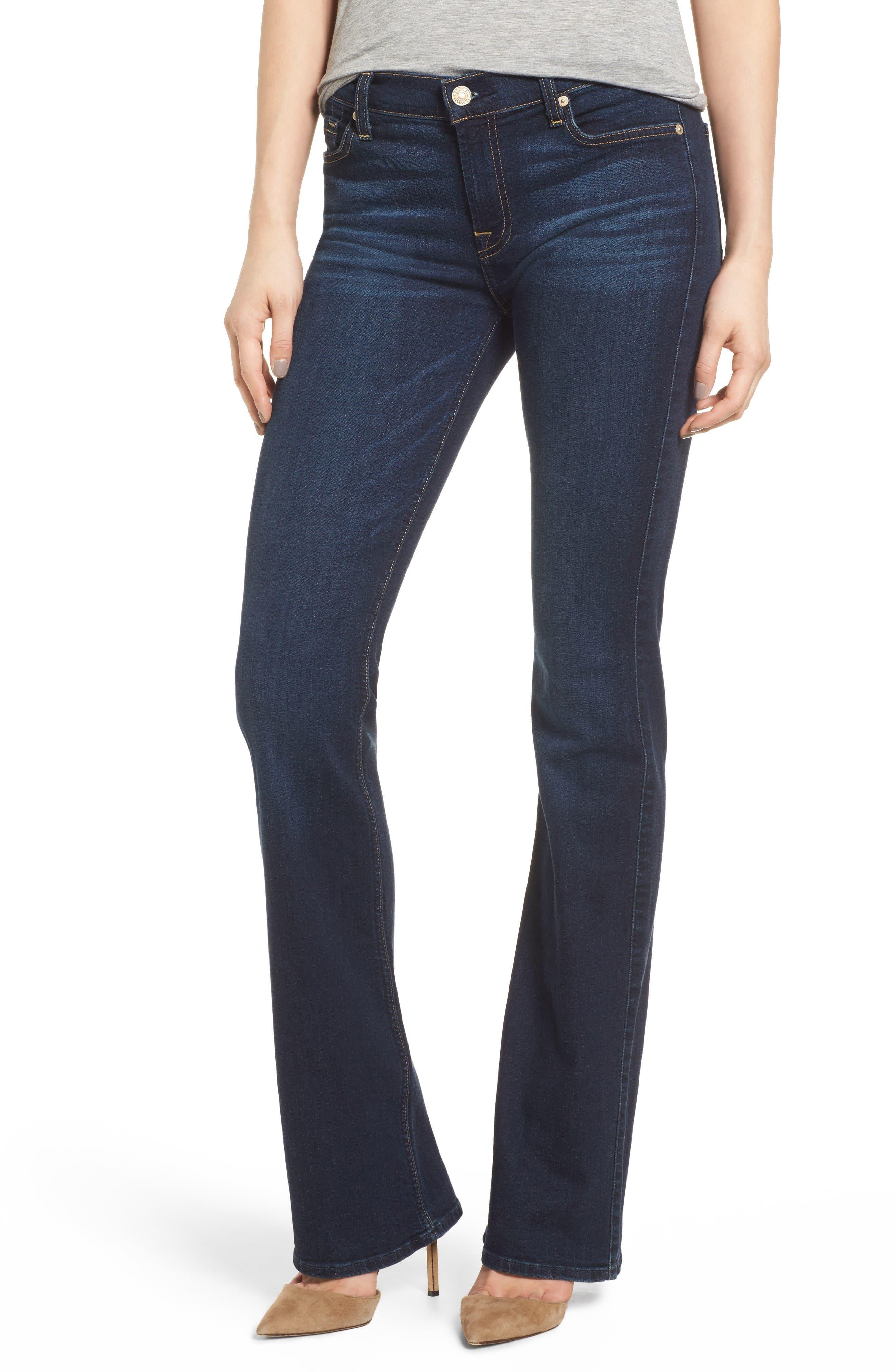 Bootcut Jeans,                         Main,                         color, Santiago Canyon