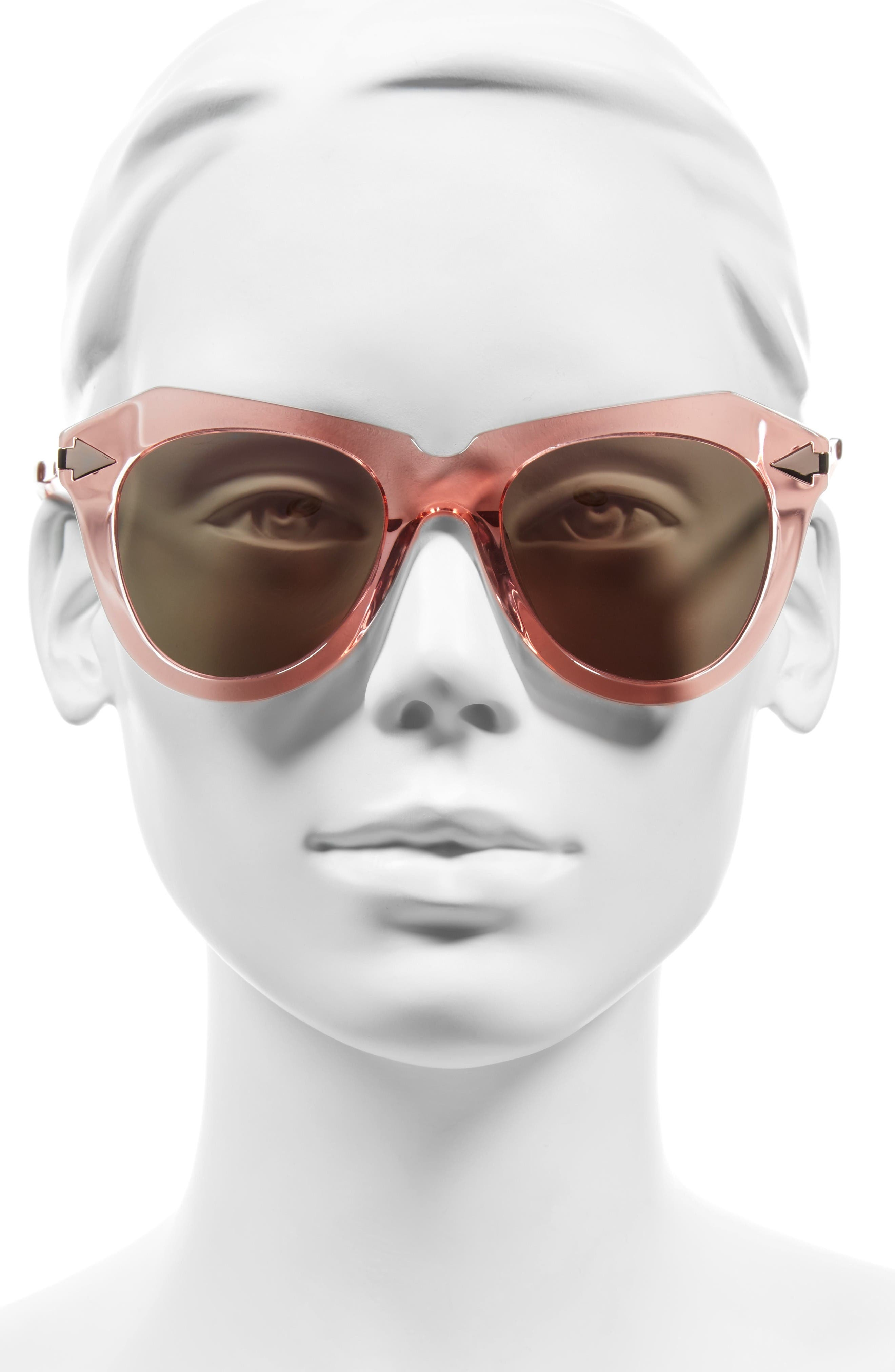 Alternate Image 2  - Karen Walker One Star 50mm Retro Sunglasses