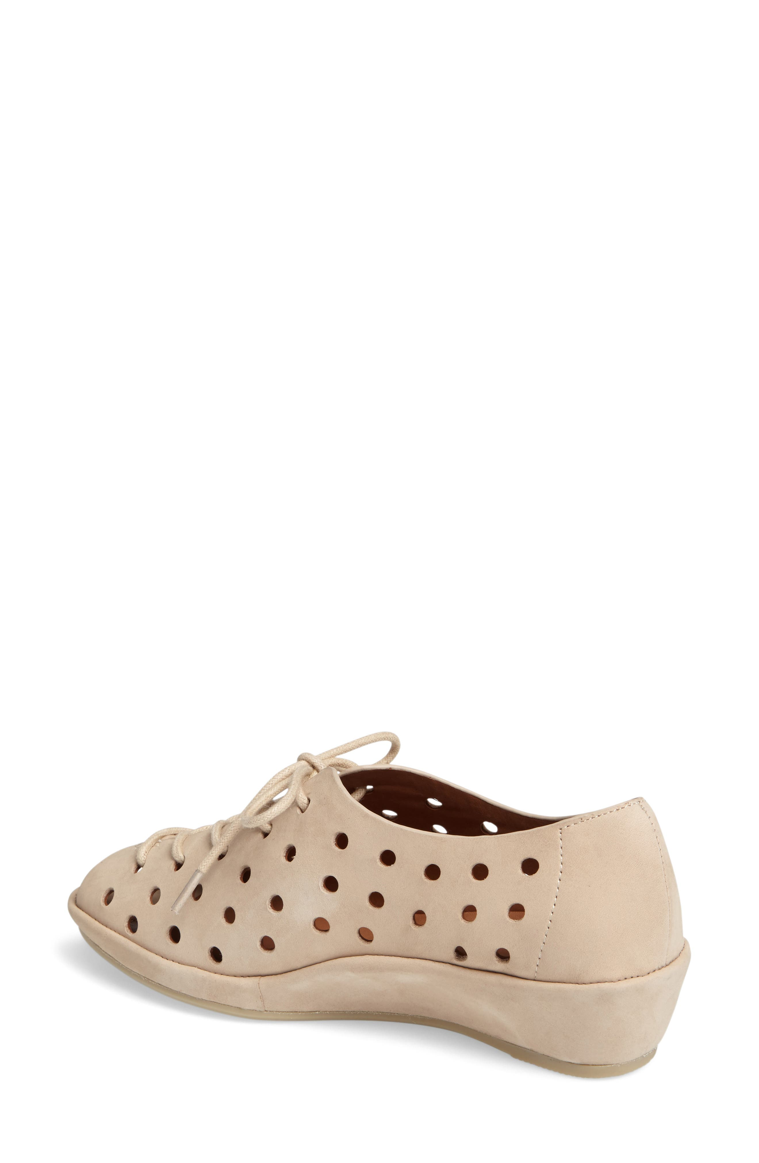 Alternate Image 2  - L'Amour des Pieds Boccoo Perforated Lace-Up Oxford (Women)