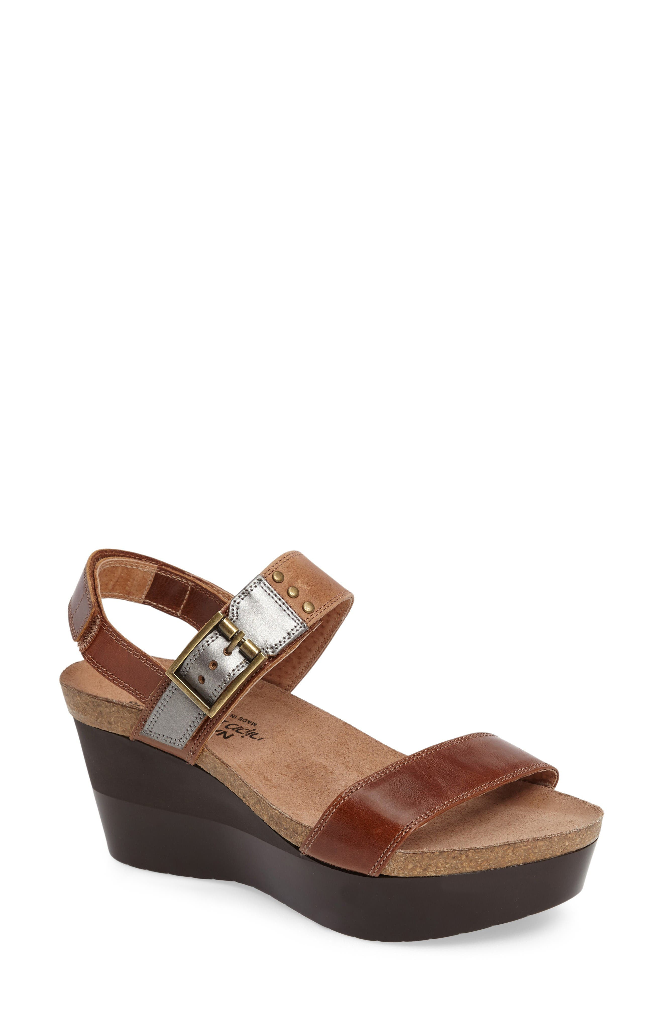 Alternate Image 1 Selected - Naot Alpha Platform Wedge Sandal Sandal (Women)