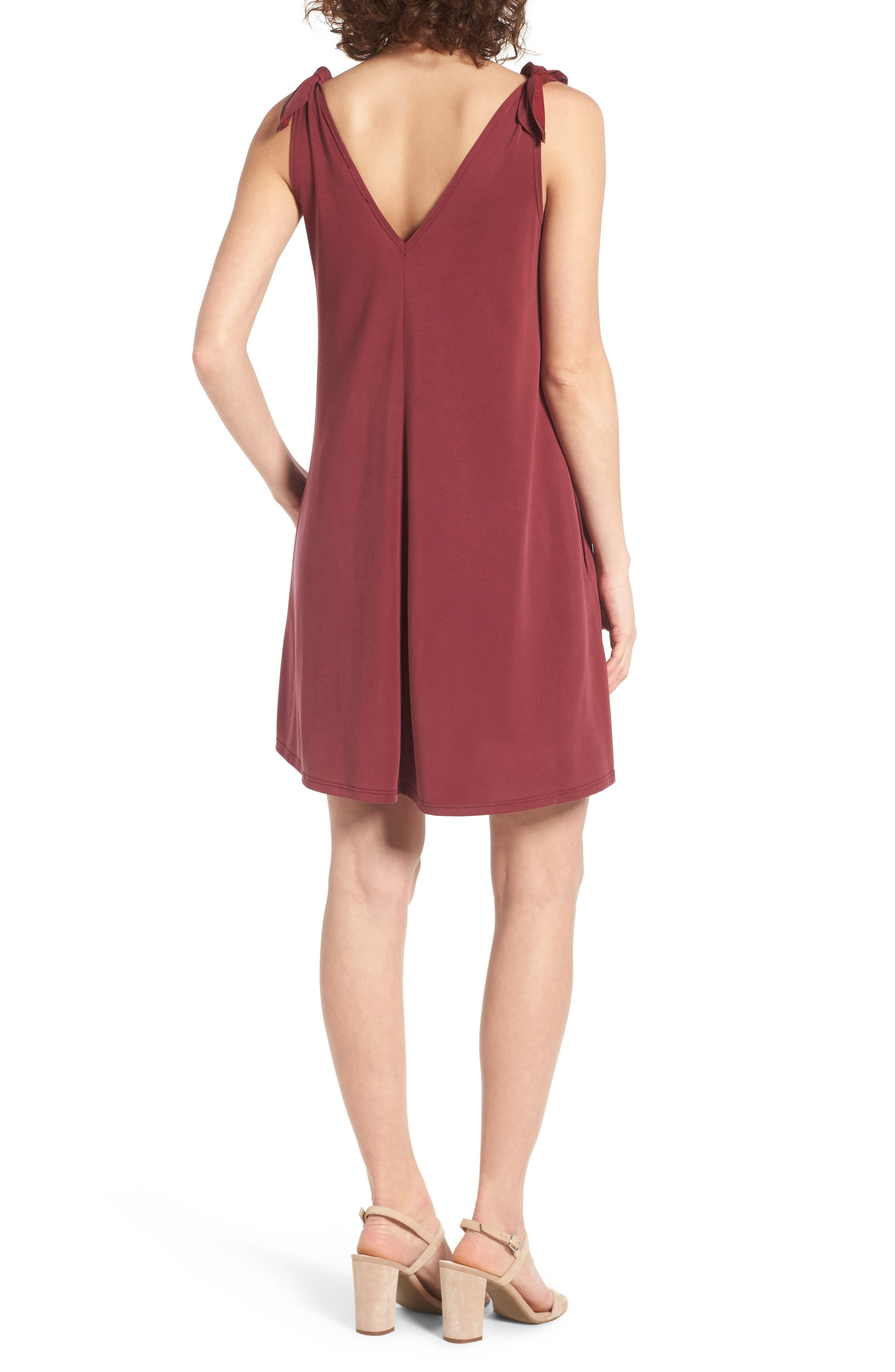 Alternate Image 2  - Soprano Shoulder Tie Dress