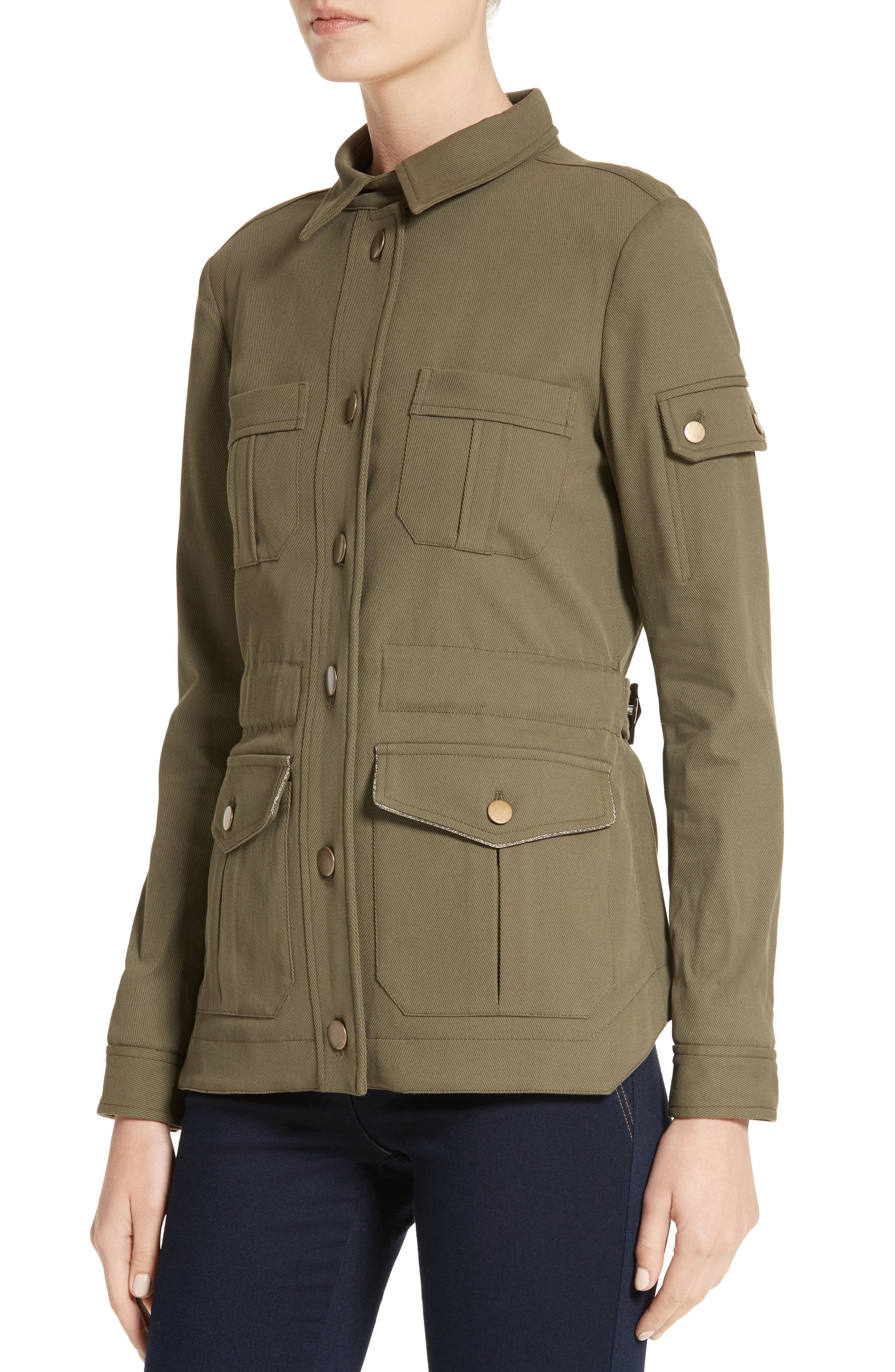 Camp Jacket,                             Alternate thumbnail 6, color,                             Army Green