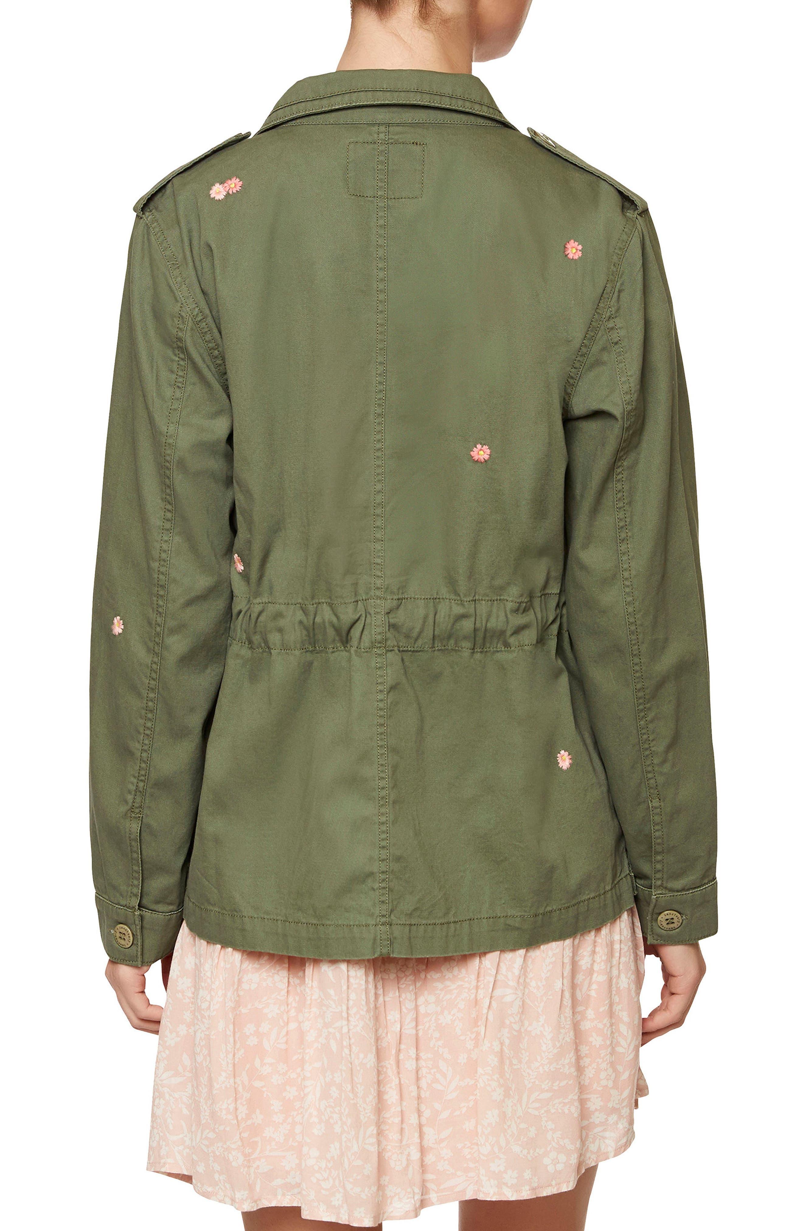 Flower Field Shirt Jacket,                             Alternate thumbnail 2, color,                             Cadet