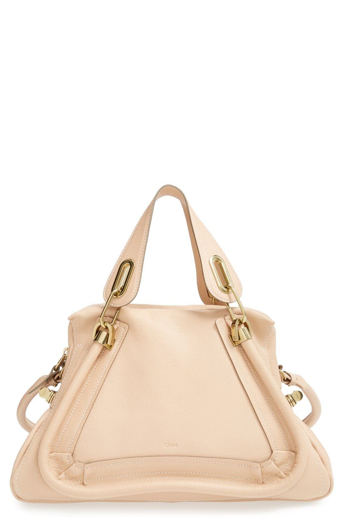 Alternate Image 1 Selected - Chloé 'Paraty - Medium' Leather Satchel