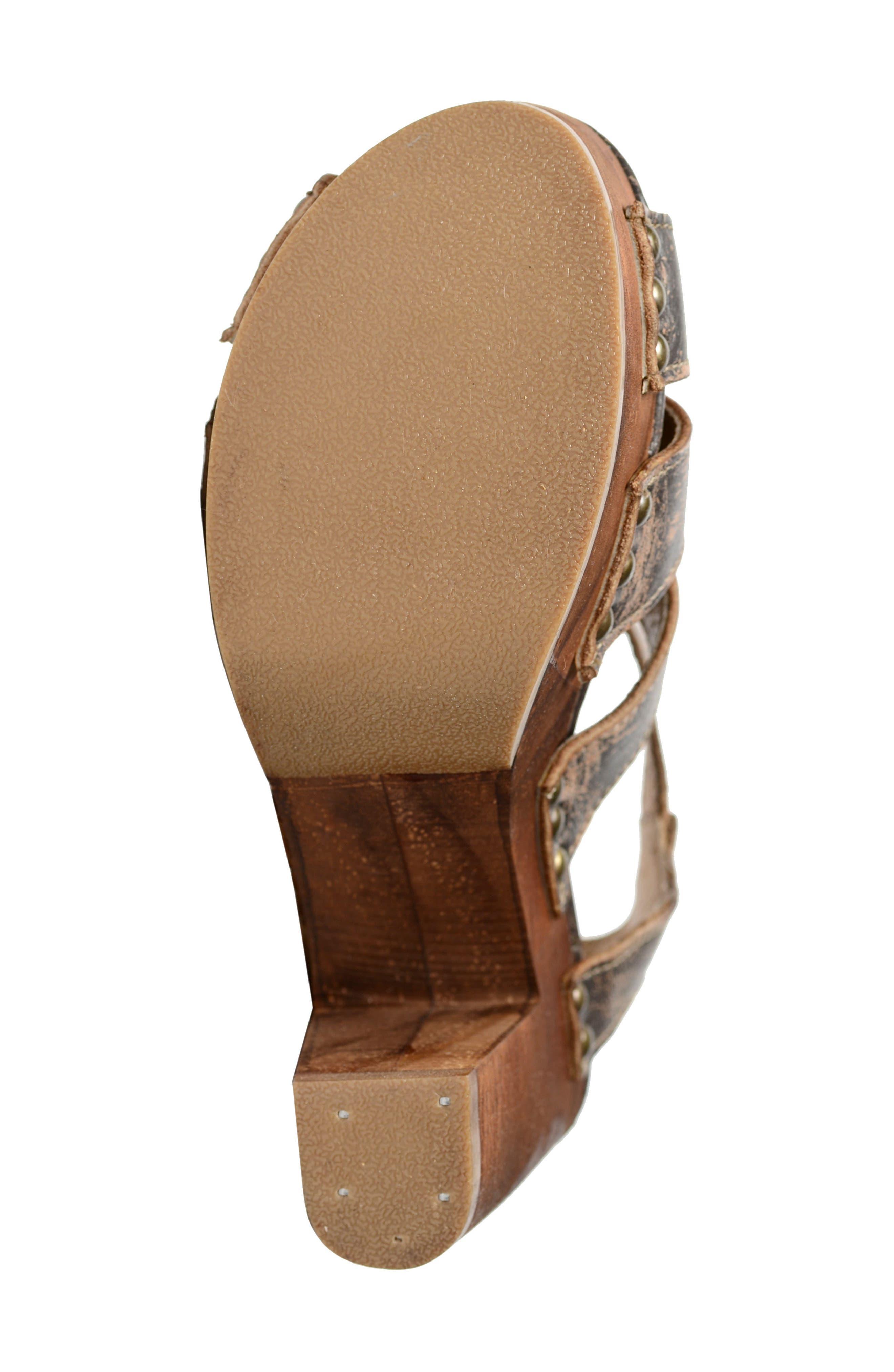 Alternate Image 4  - Bed Stu Caitlin Block Heel Sandal (Women)