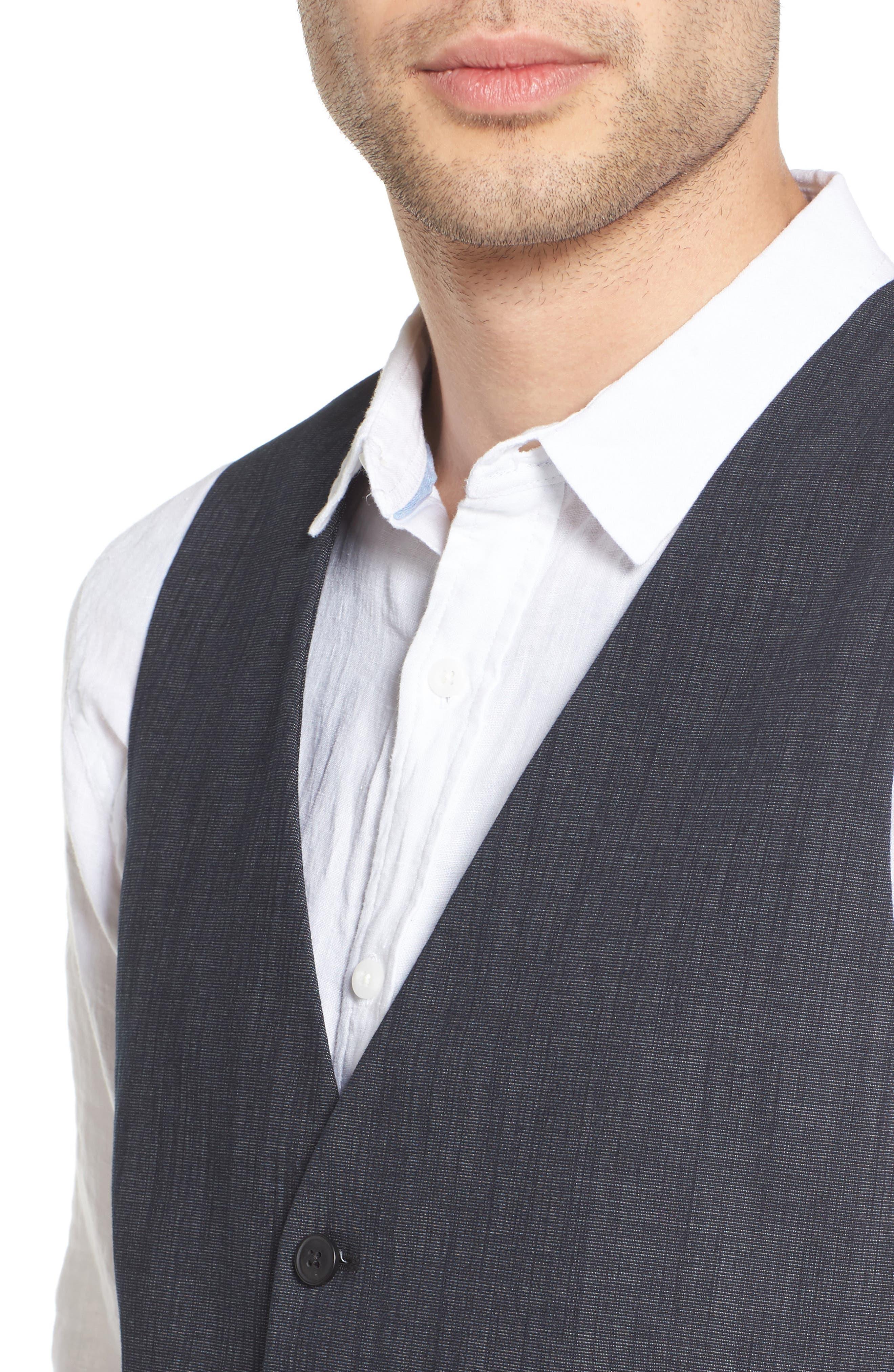Alternate Image 4  - BOSS Orange Bacer Denim Vest
