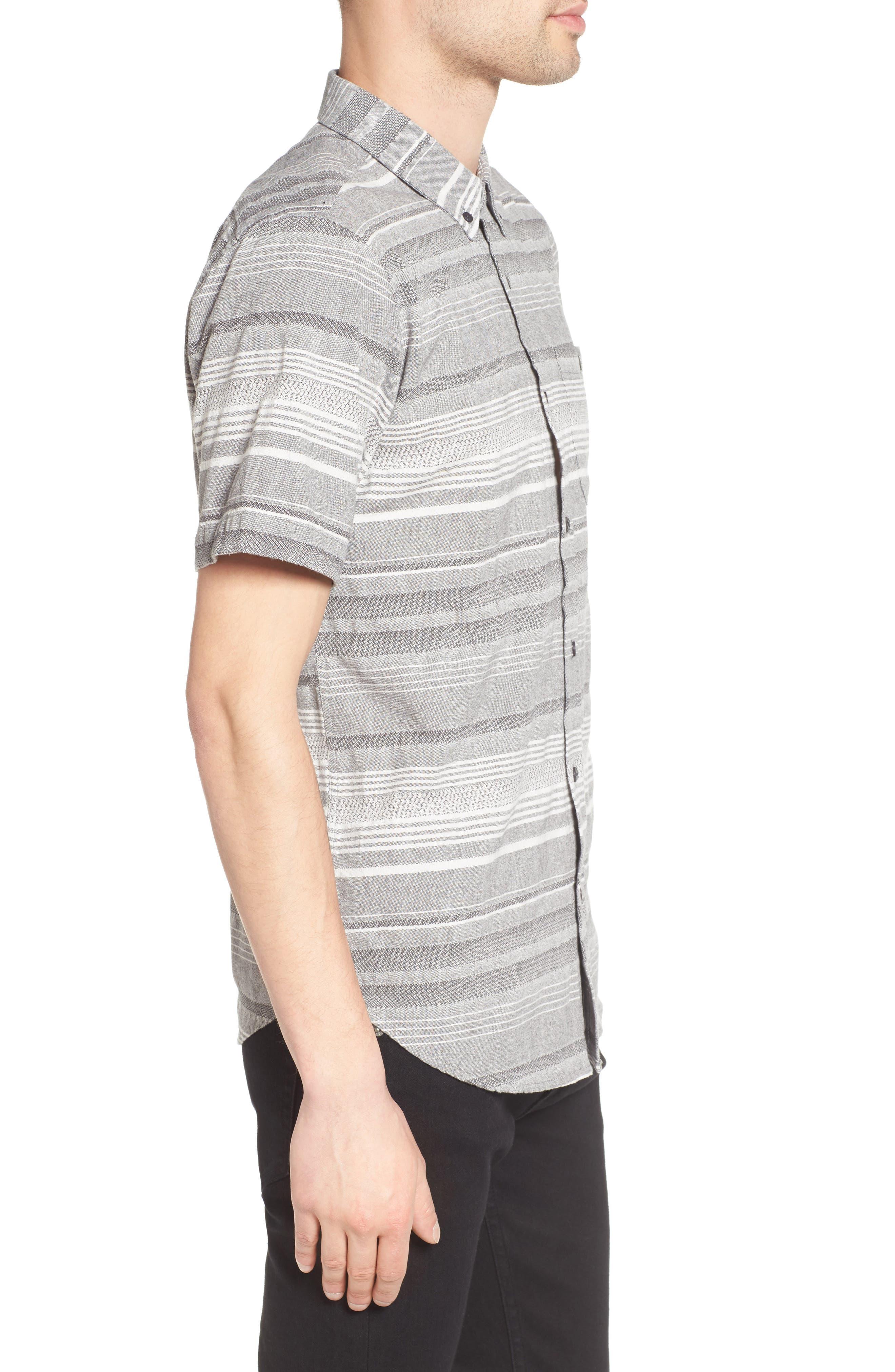 Alternate Image 3  - Ezekiel Striped Woven Shirt