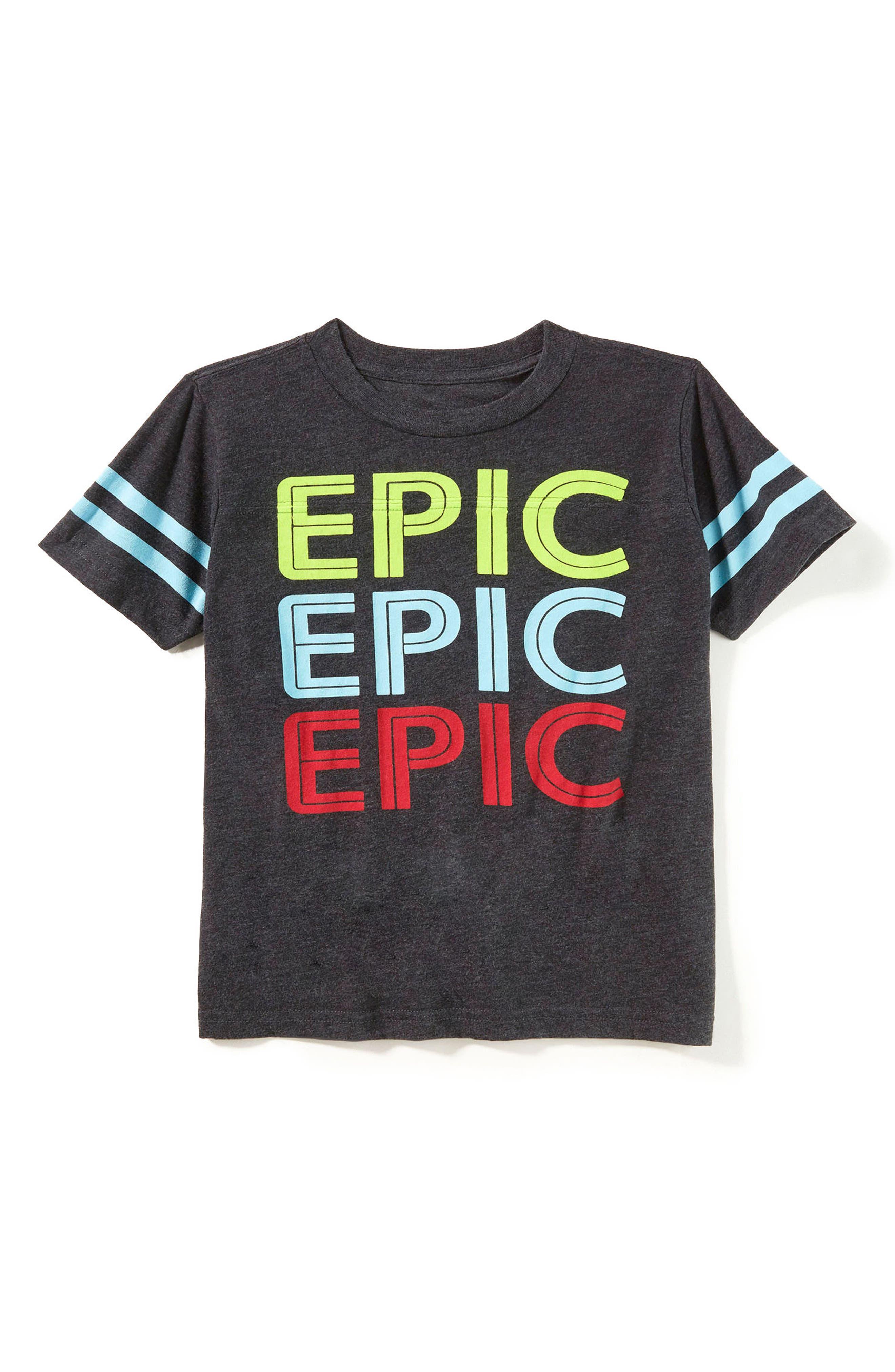 Alternate Image 1 Selected - Peek Epic Graphic T-Shirt (Toddler Boys, Little Boys & Big Boys)