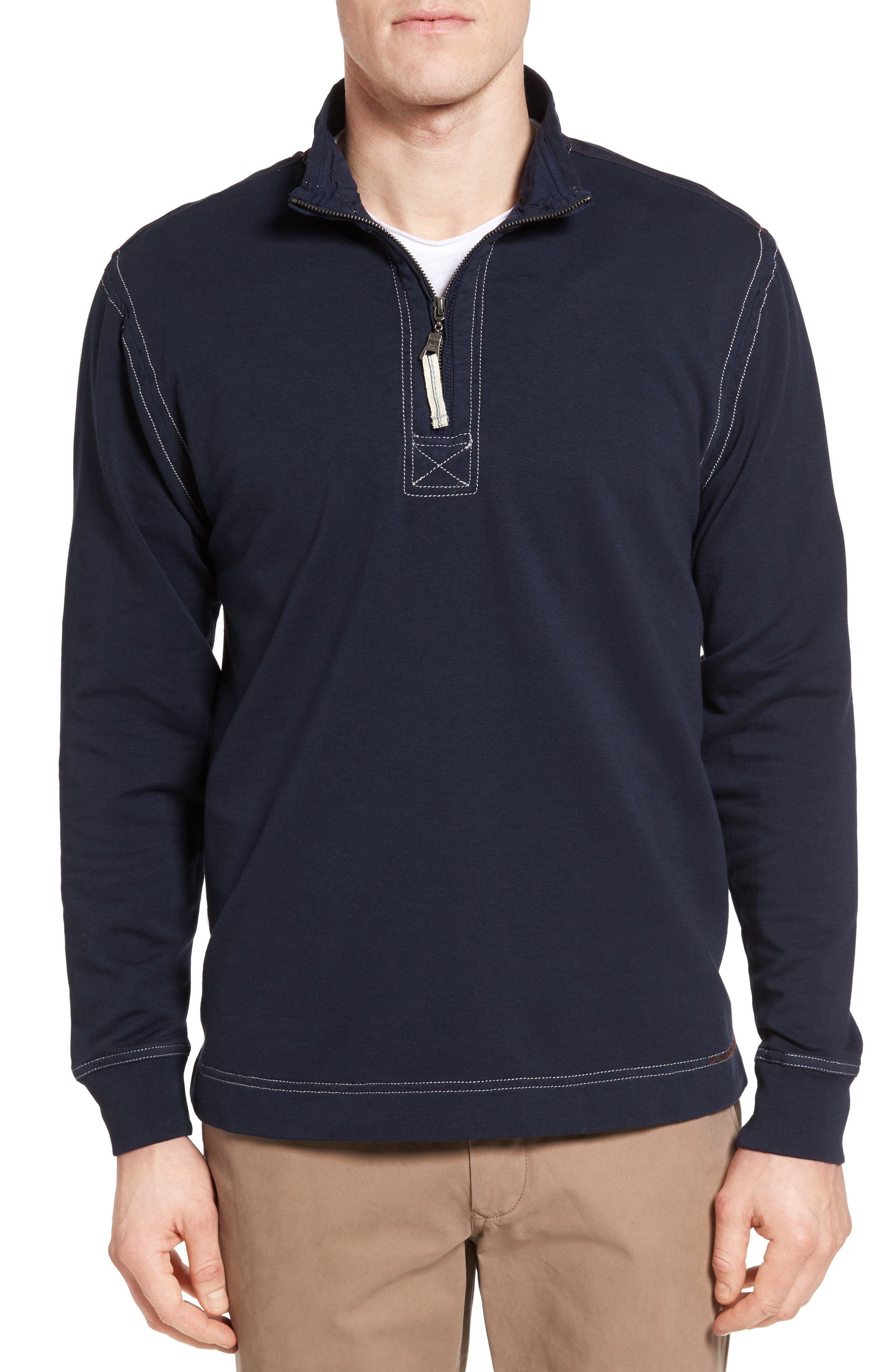 Alternate Image 1 Selected - True Grit Half Zip Pullover
