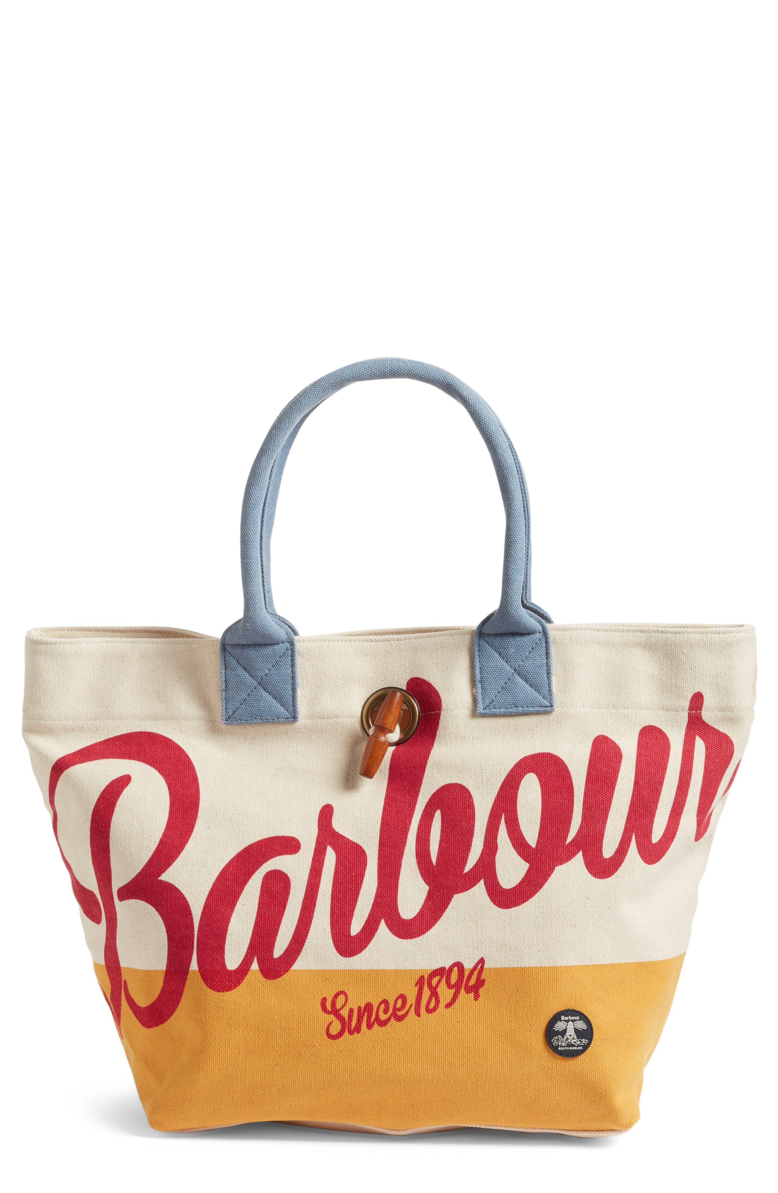 Barbour Single Shopper Tote