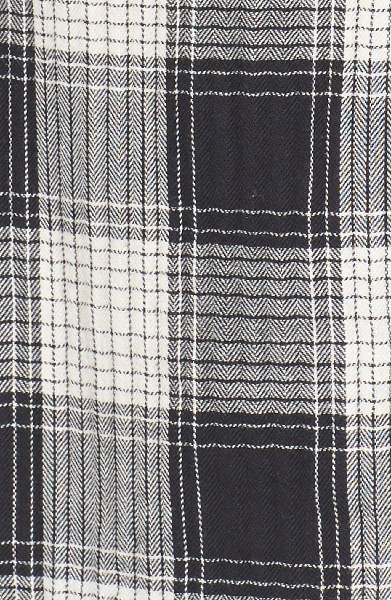 Alternate Image 5  - Ezekiel Herringbone Woven Plaid Shirt