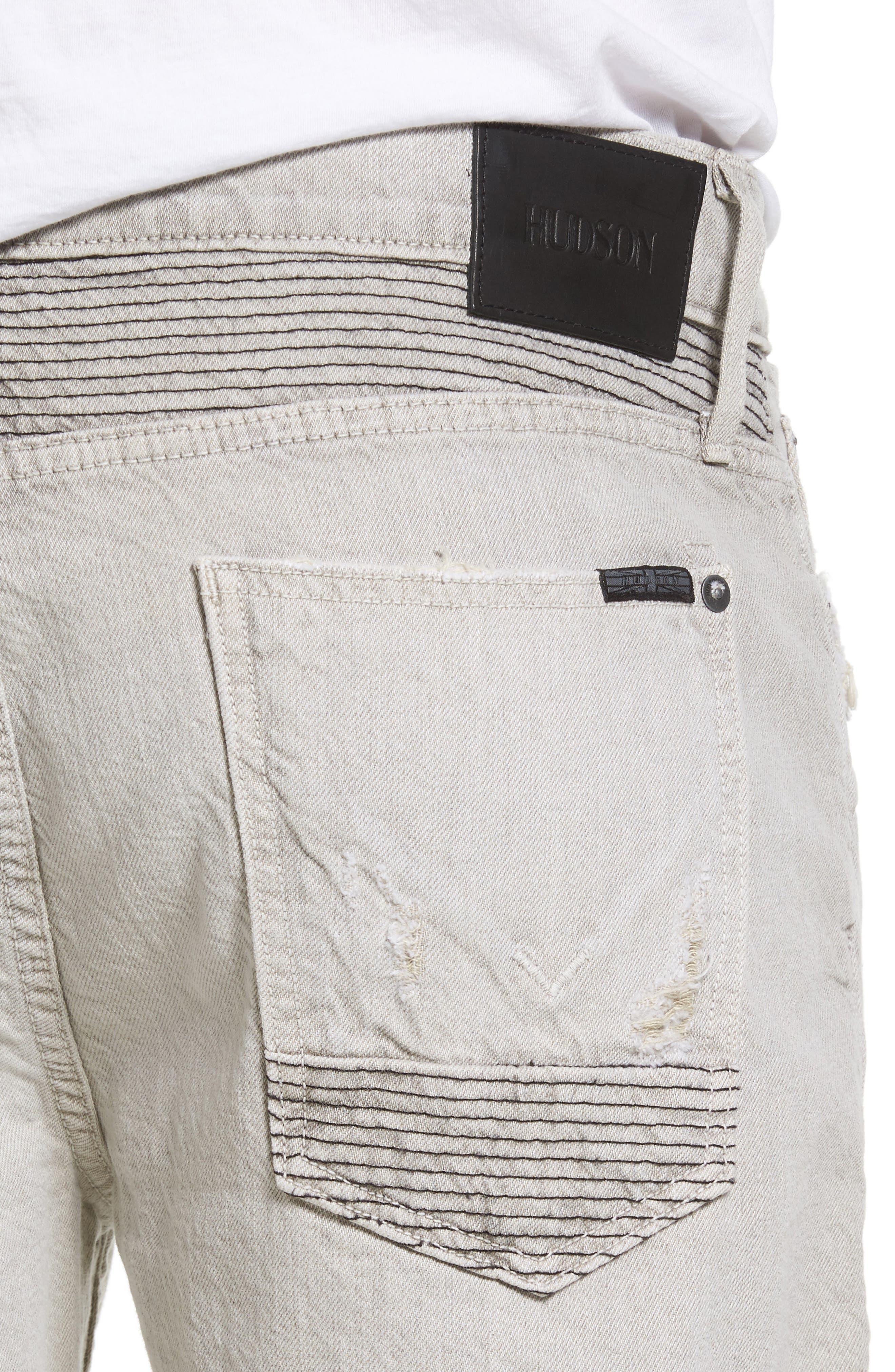 Alternate Image 4  - Hudson Jeans Blinder Biker Skinny Fit Jeans (Adherence)