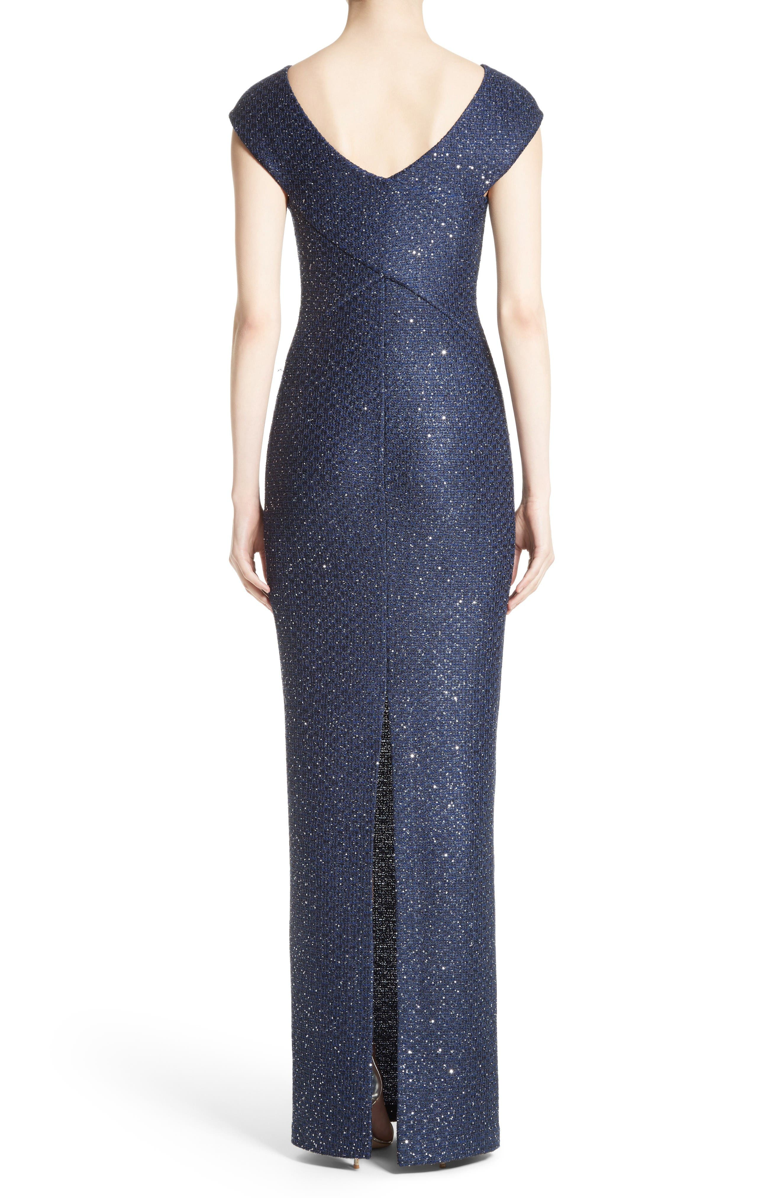 Alternate Image 2  - St. John Evening Sequin Gown