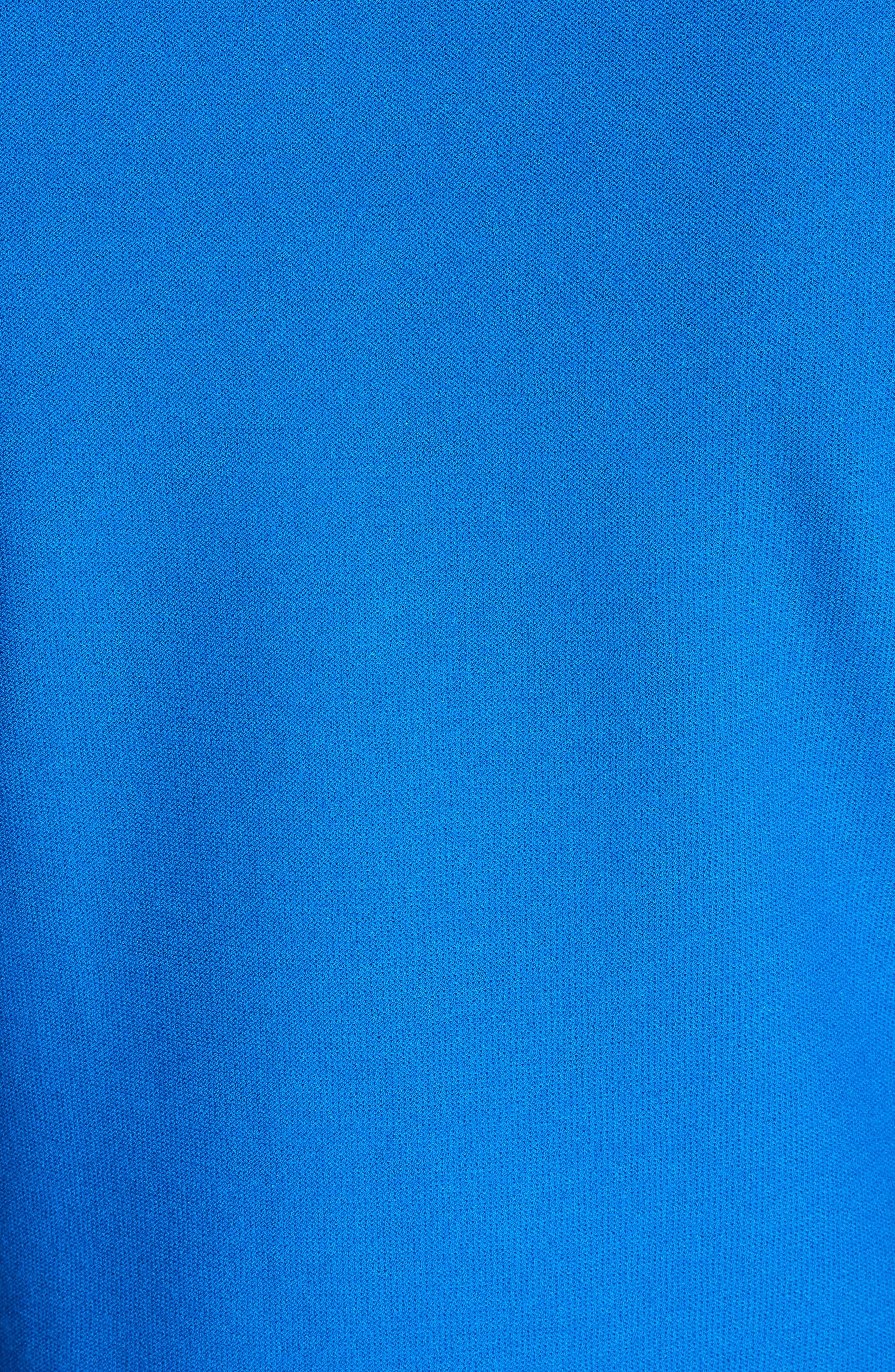 Stripe Intarsia Knit Cardigan,                             Alternate thumbnail 7, color,                             Jaya Blue/ Bianco