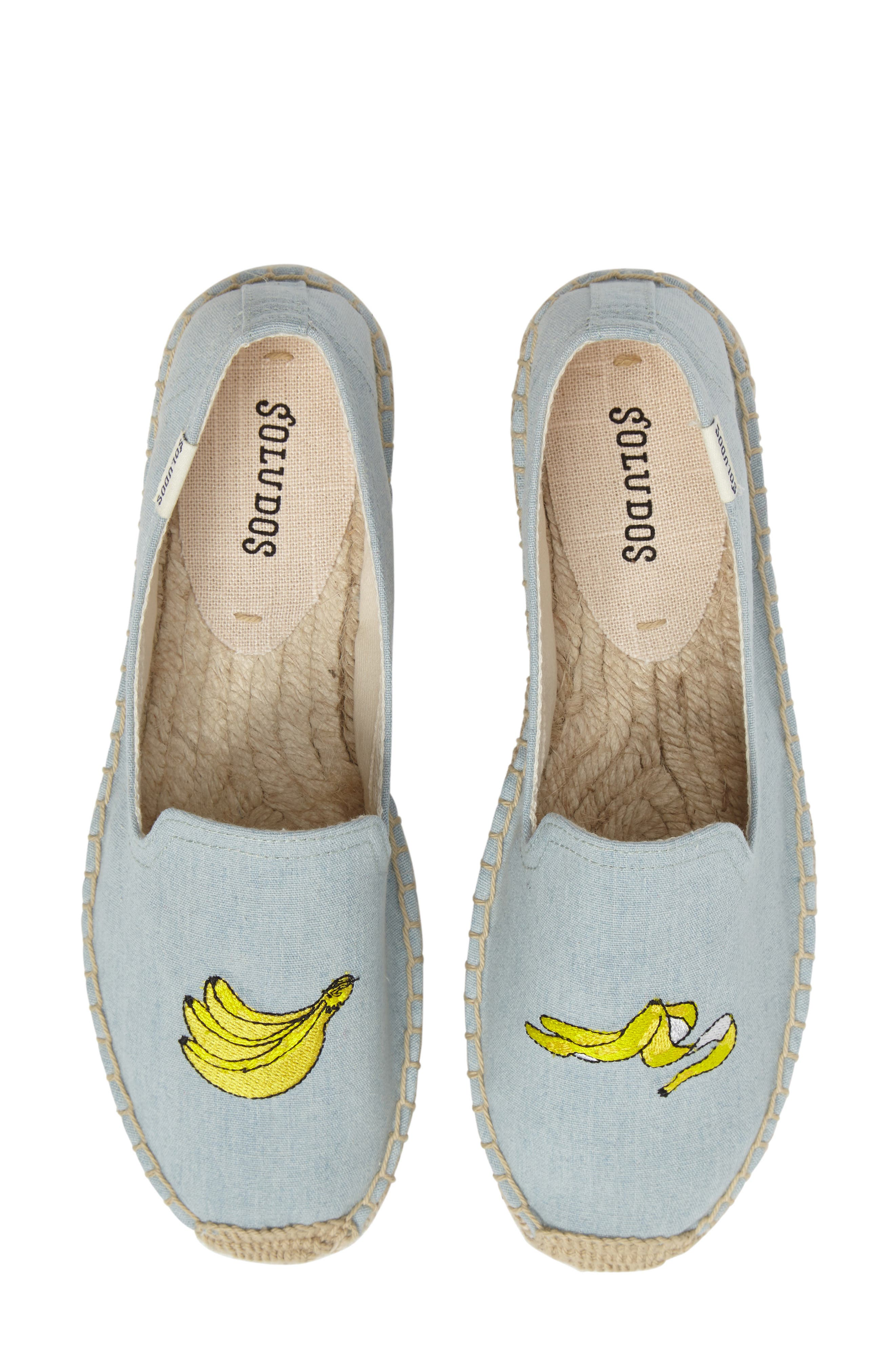 Main Image - Soludos Embroidered Espadrille Slip-On (Women)