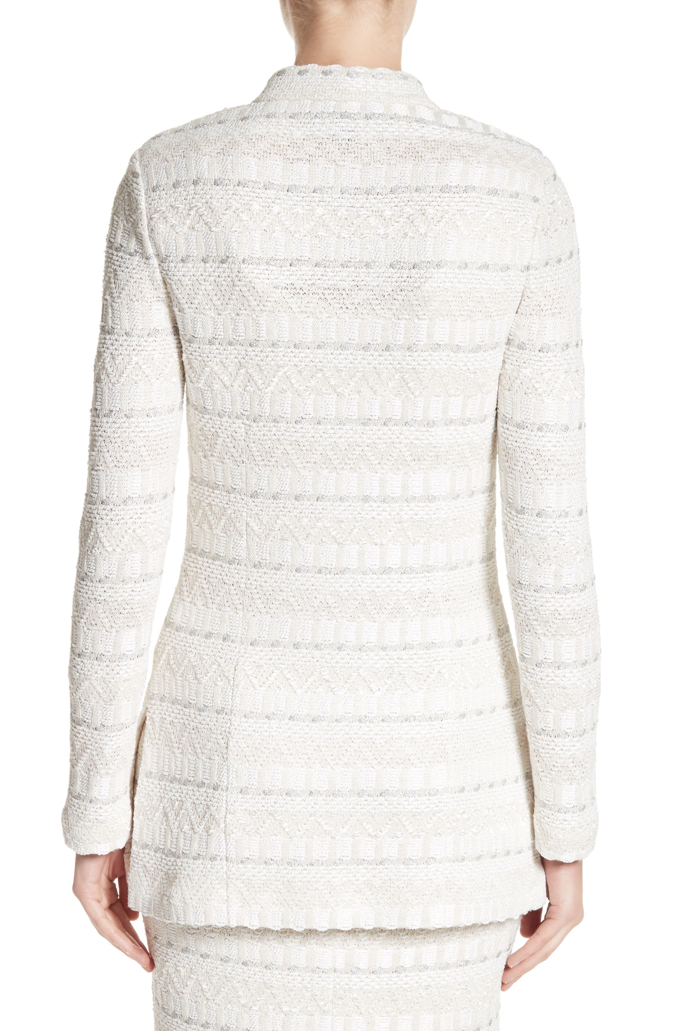Alternate Image 3  - St. John Collection Samar Knit Tweed Jacket