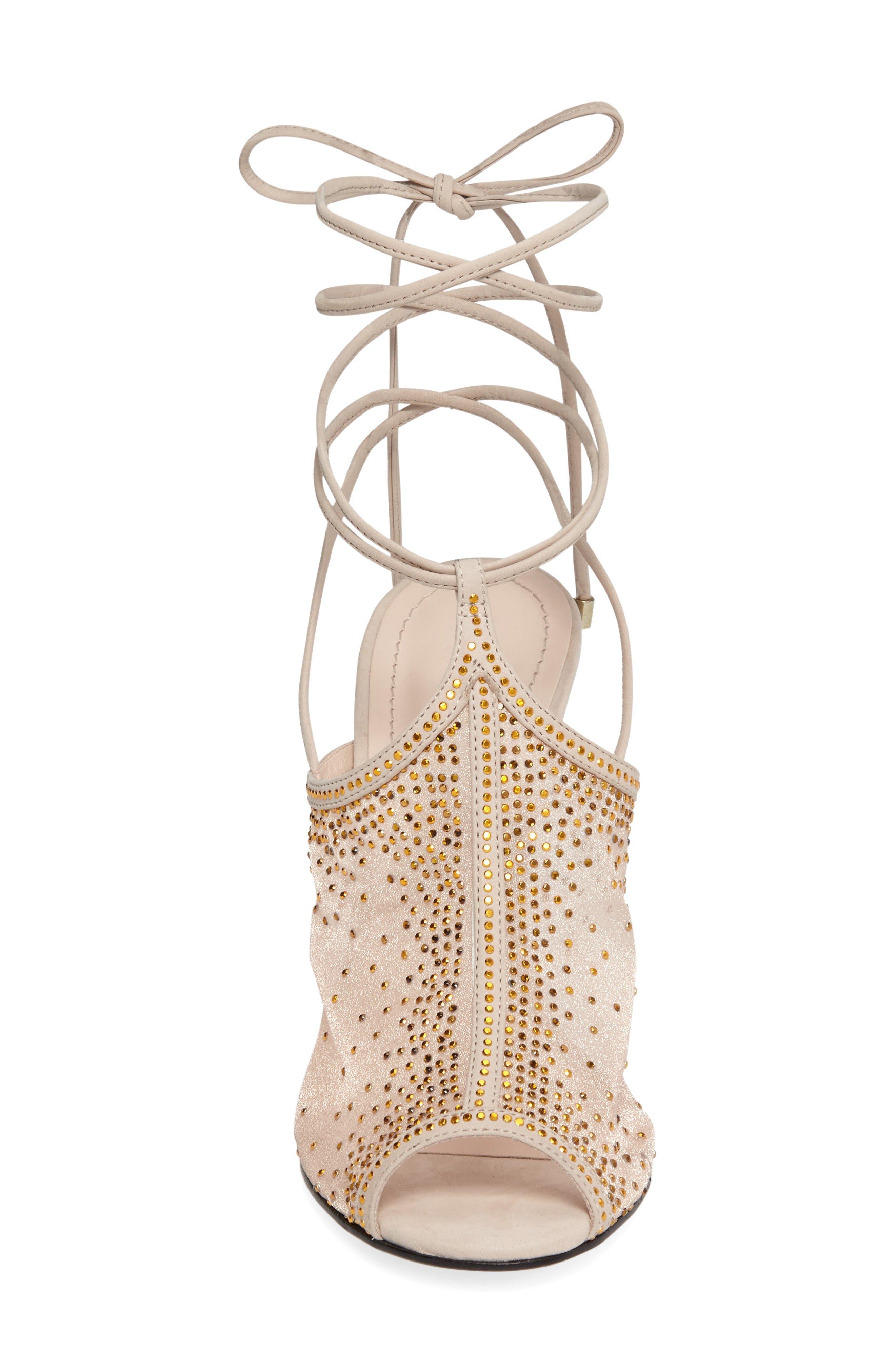 Alternate Image 4  - Klub Nico Margeaux Embellished Wraparound Sandal (Women)
