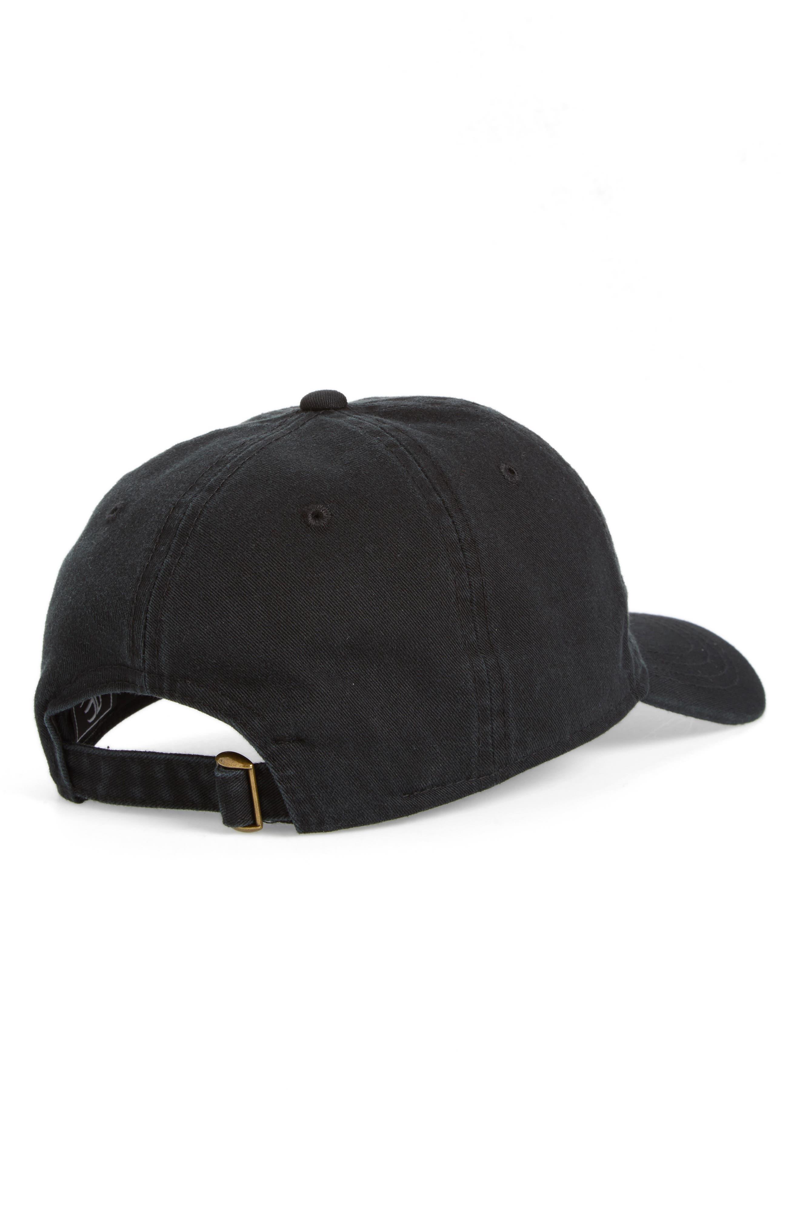 Alternate Image 2  - Body Rags Clothing Co. Micro Heart Baseball Cap