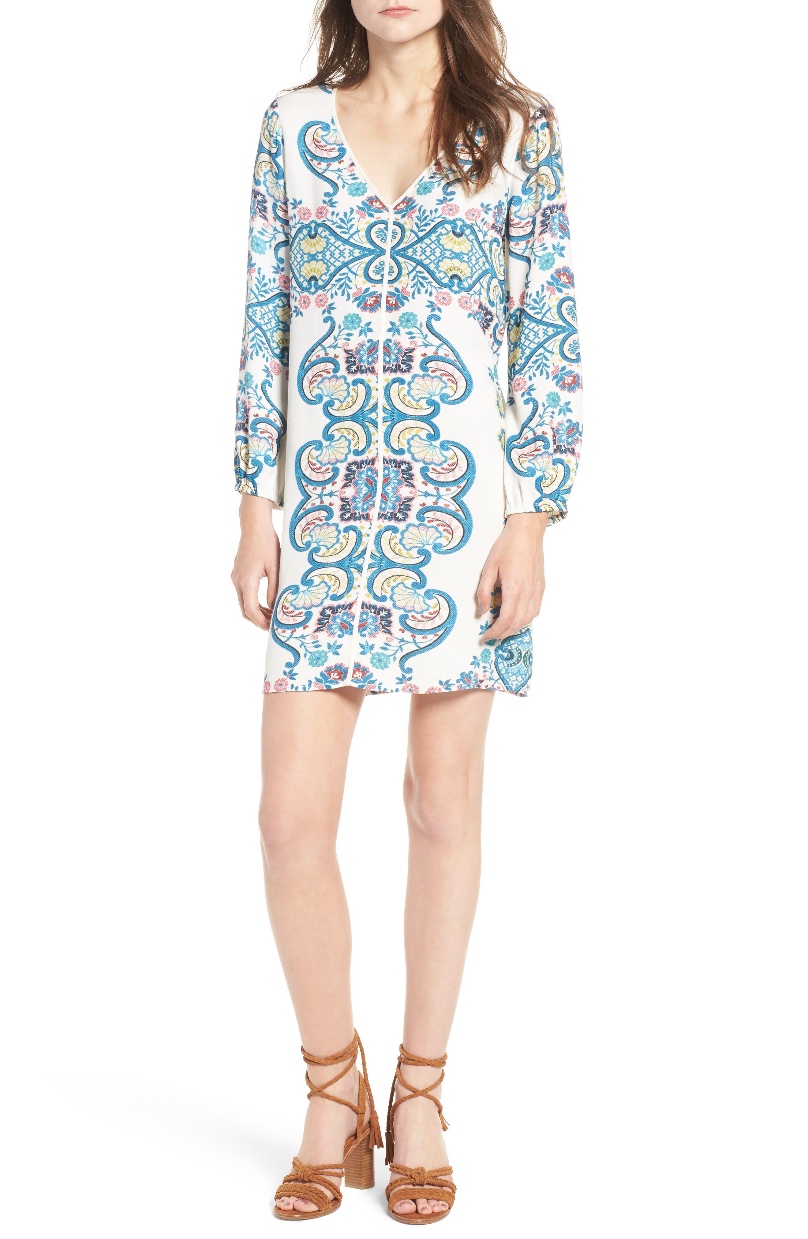 Ella Moss Lover Tapestry Shift Dress
