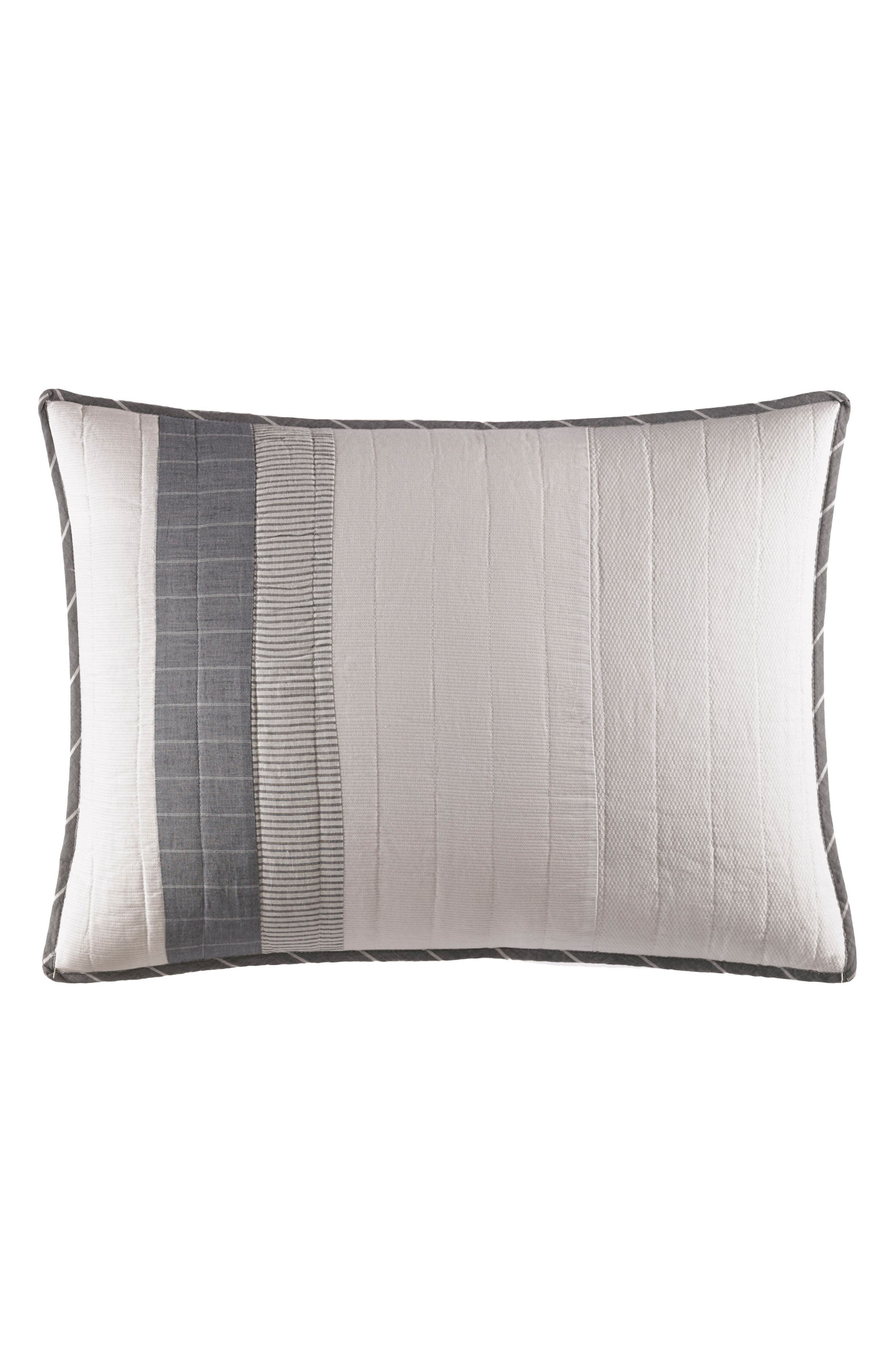 Calvert Standard Sham,                         Main,                         color, Grey