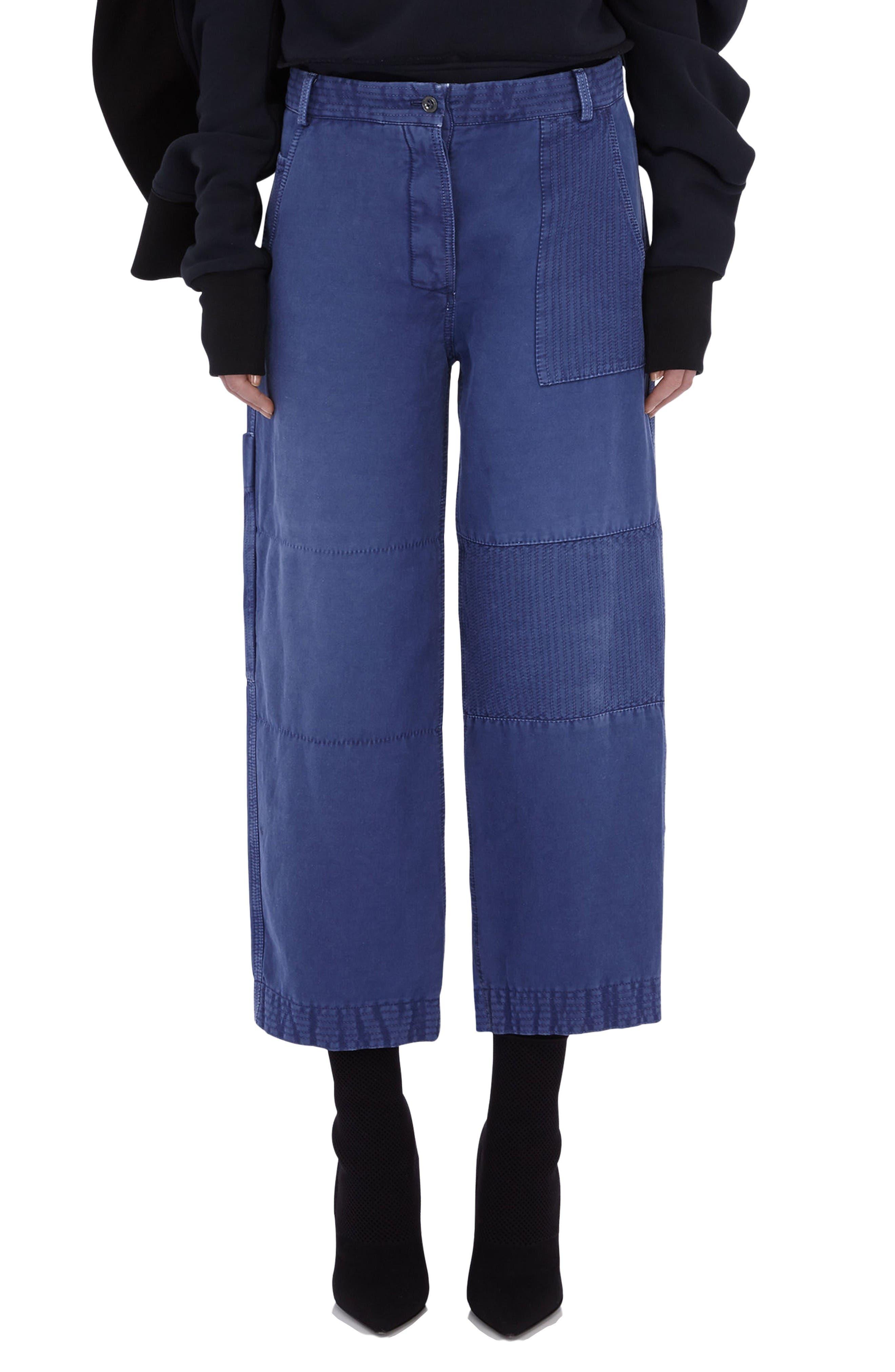 Burberry Crop Workwear Pants