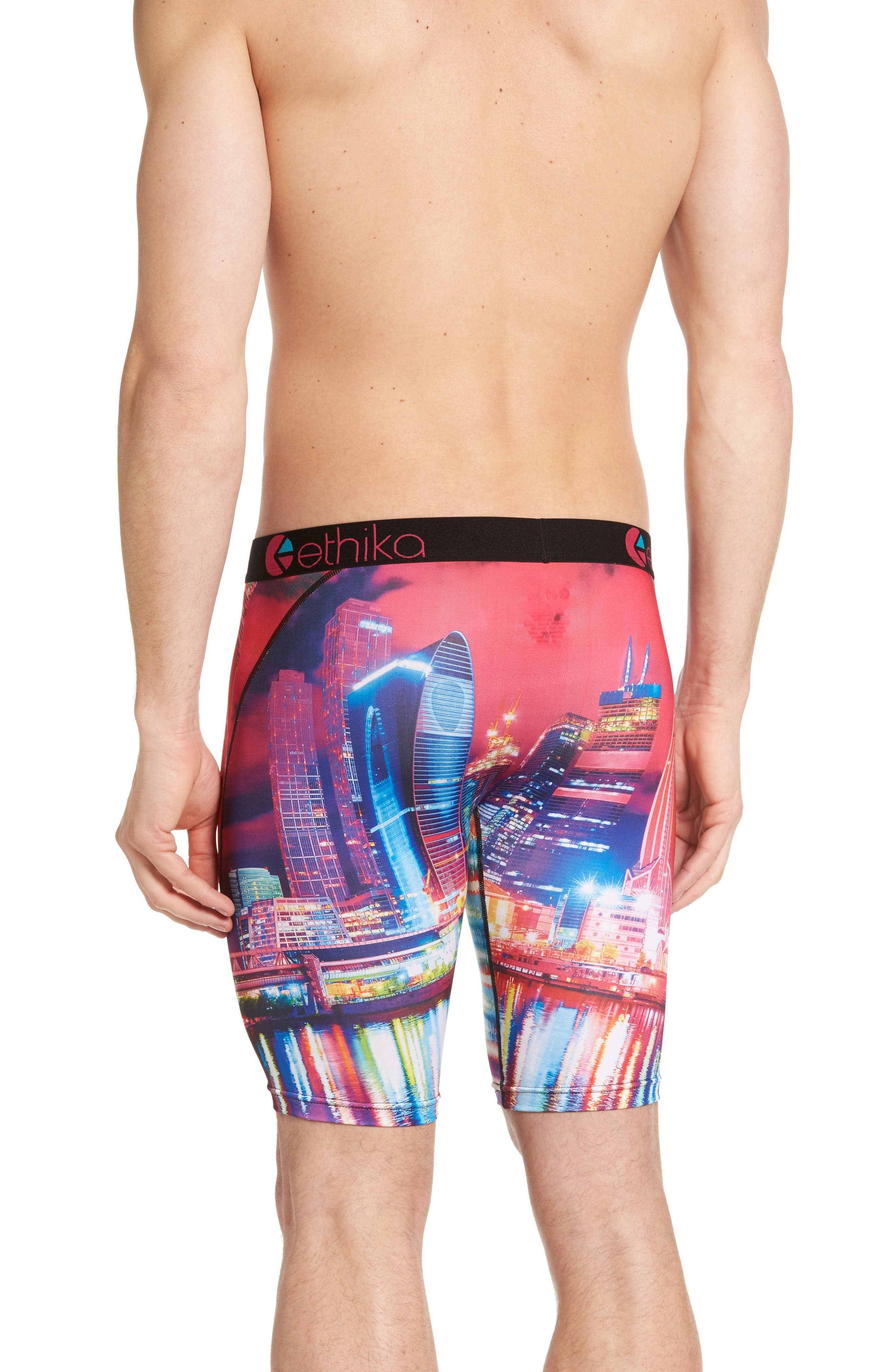 Alternate Image 2  - Ethika Moscow Nights Stretch Boxer Briefs