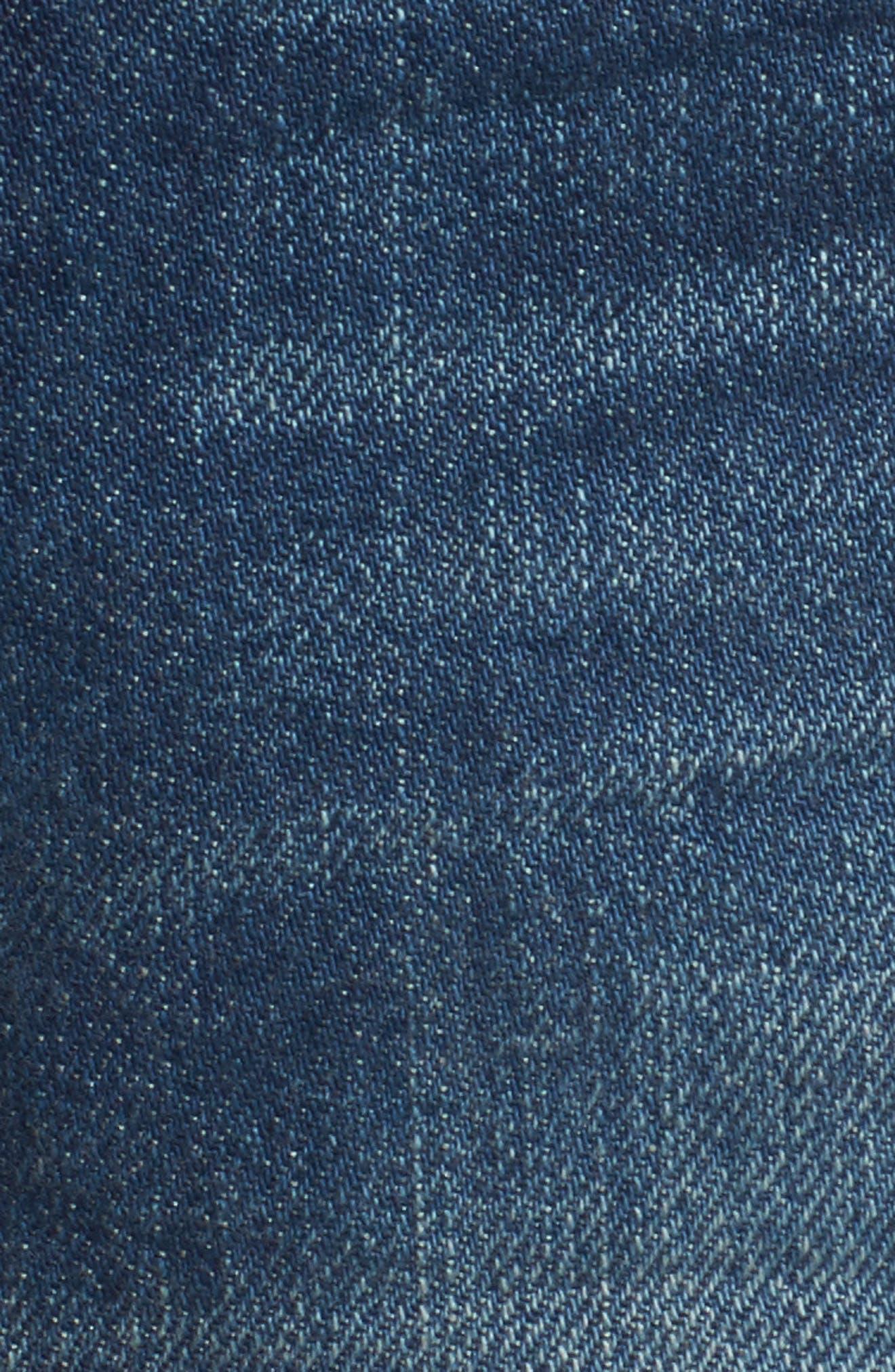 Alternate Image 6  - Levi's® 501® Cutoff Denim Shorts (California Tide)