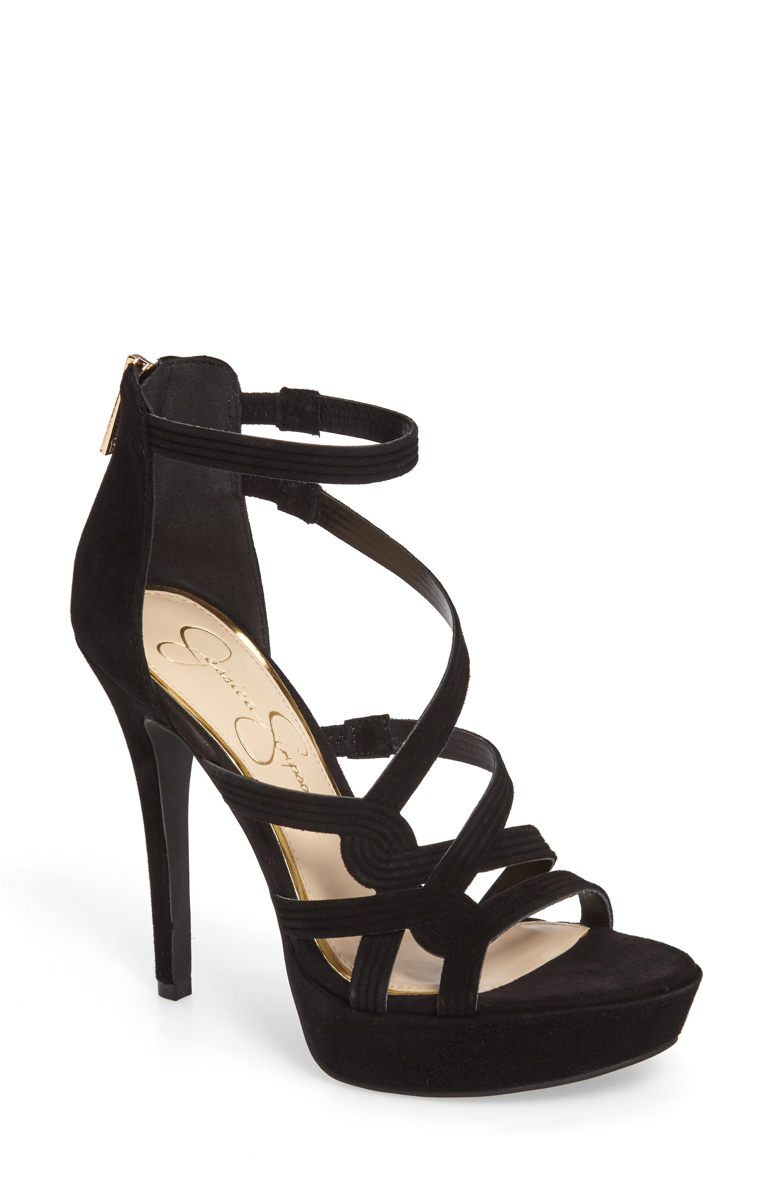 Alternate Image 1 Selected - Jessica Simpson Bellanne Platform Sandal (Women)