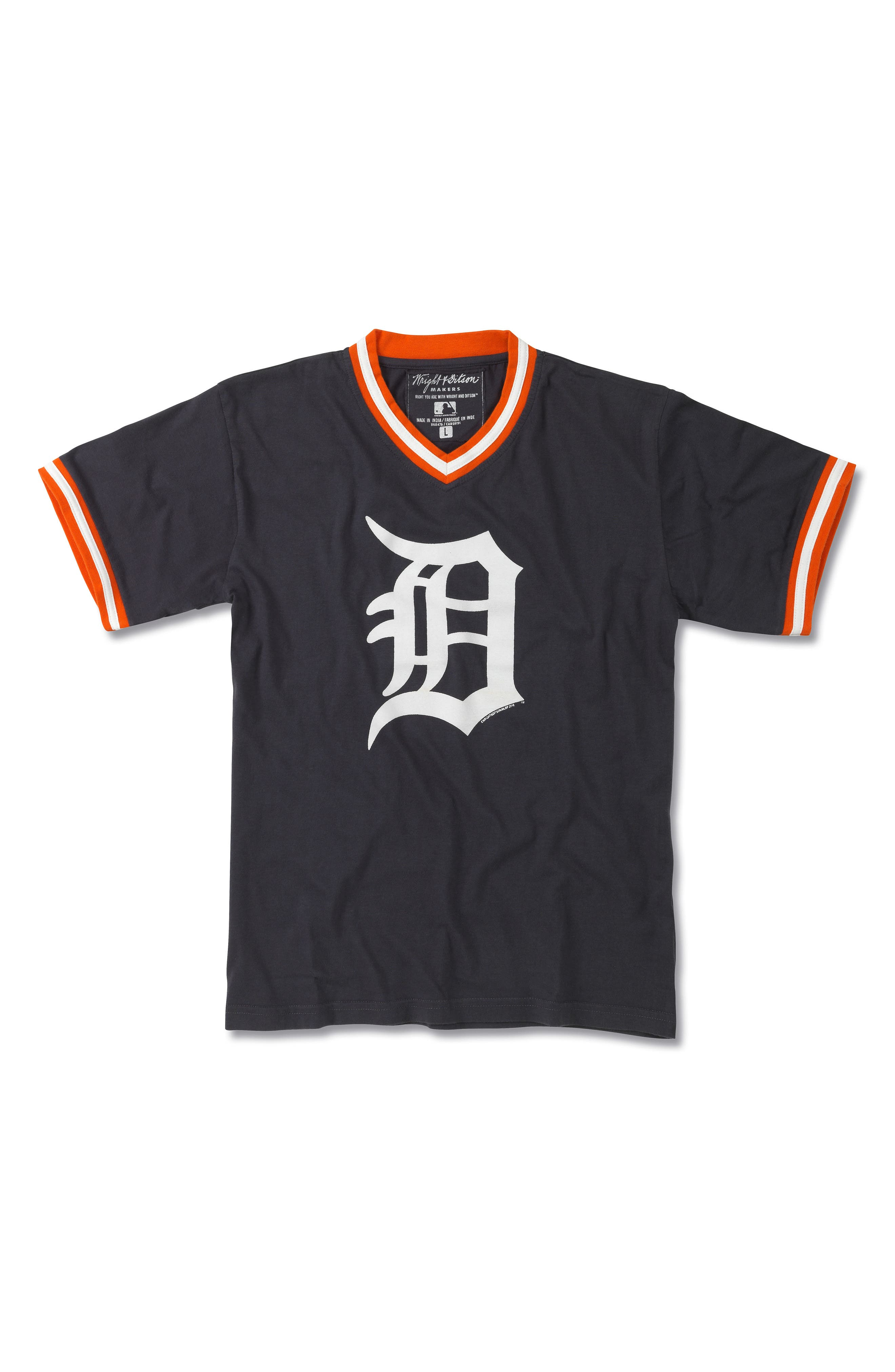 Alternate Image 1 Selected - Wright & Ditson Detroit Tigers T-Shirt (Little Boys & Big Boys)