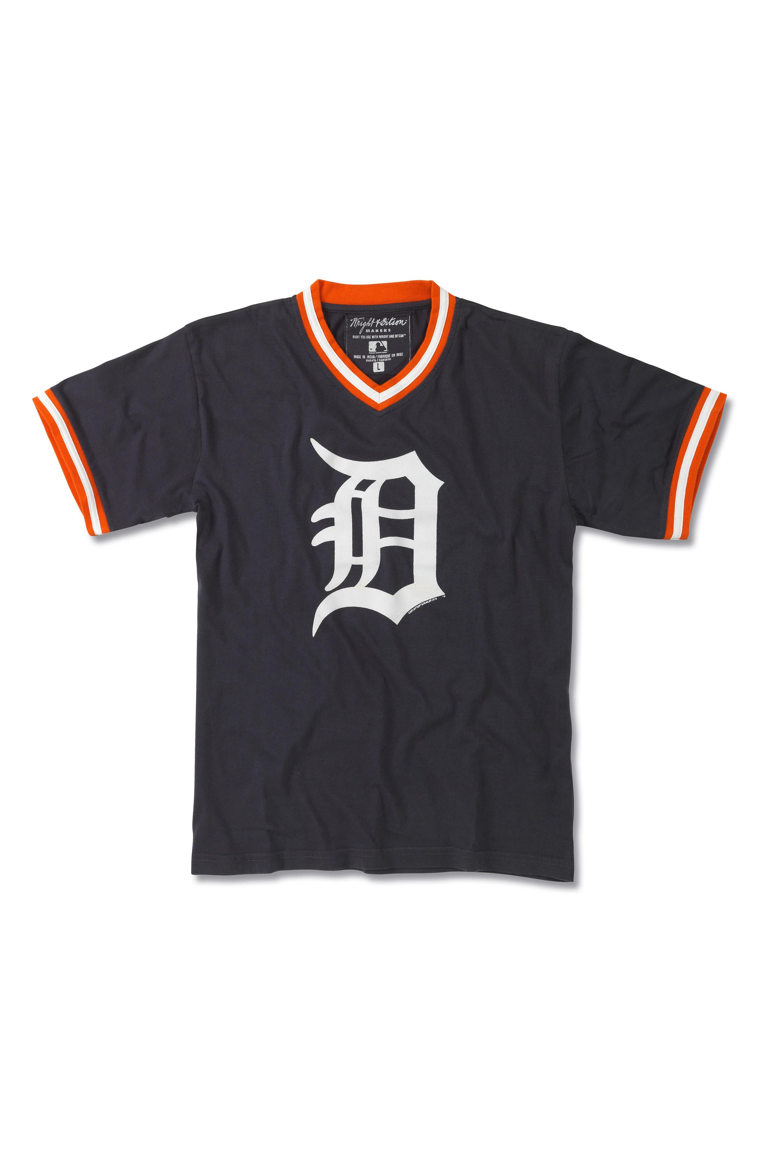 Detroit Tigers T-Shirt,                         Main,                         color, Deep Navy