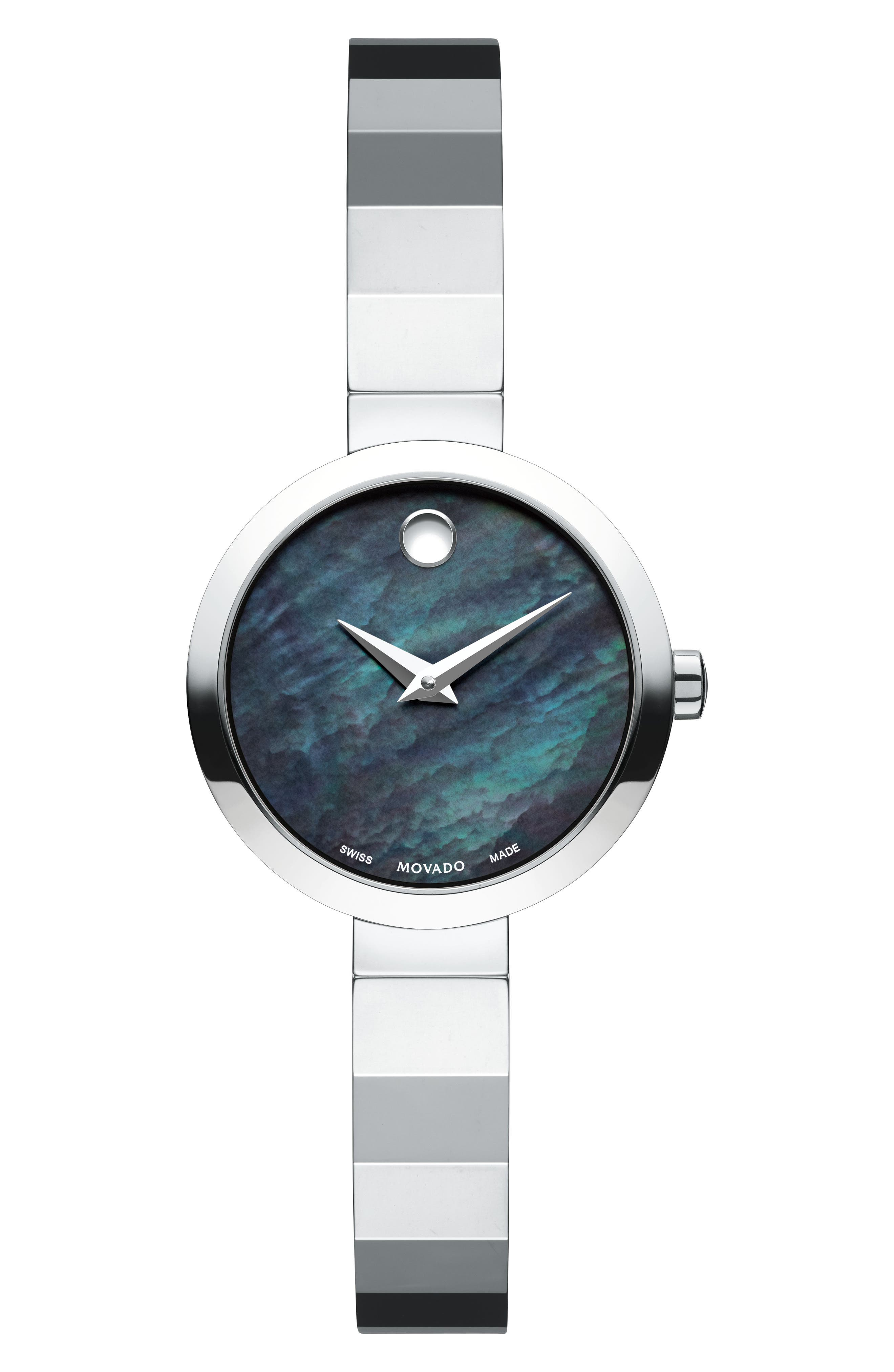 Alternate Image 1 Selected - Movado Novella Bangle Watch, 24mm