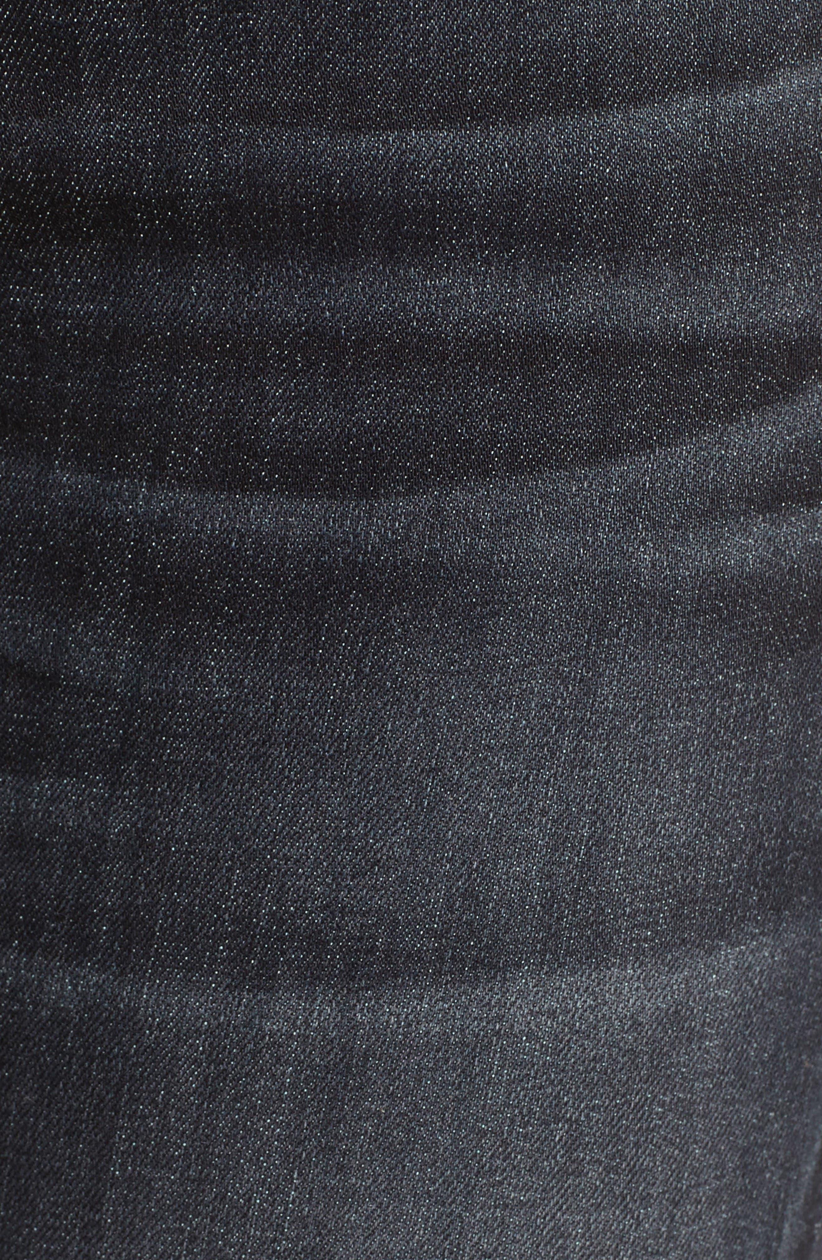 Alternate Image 5  - rag & bone/JEAN Skinny Jeans (Black Rae)
