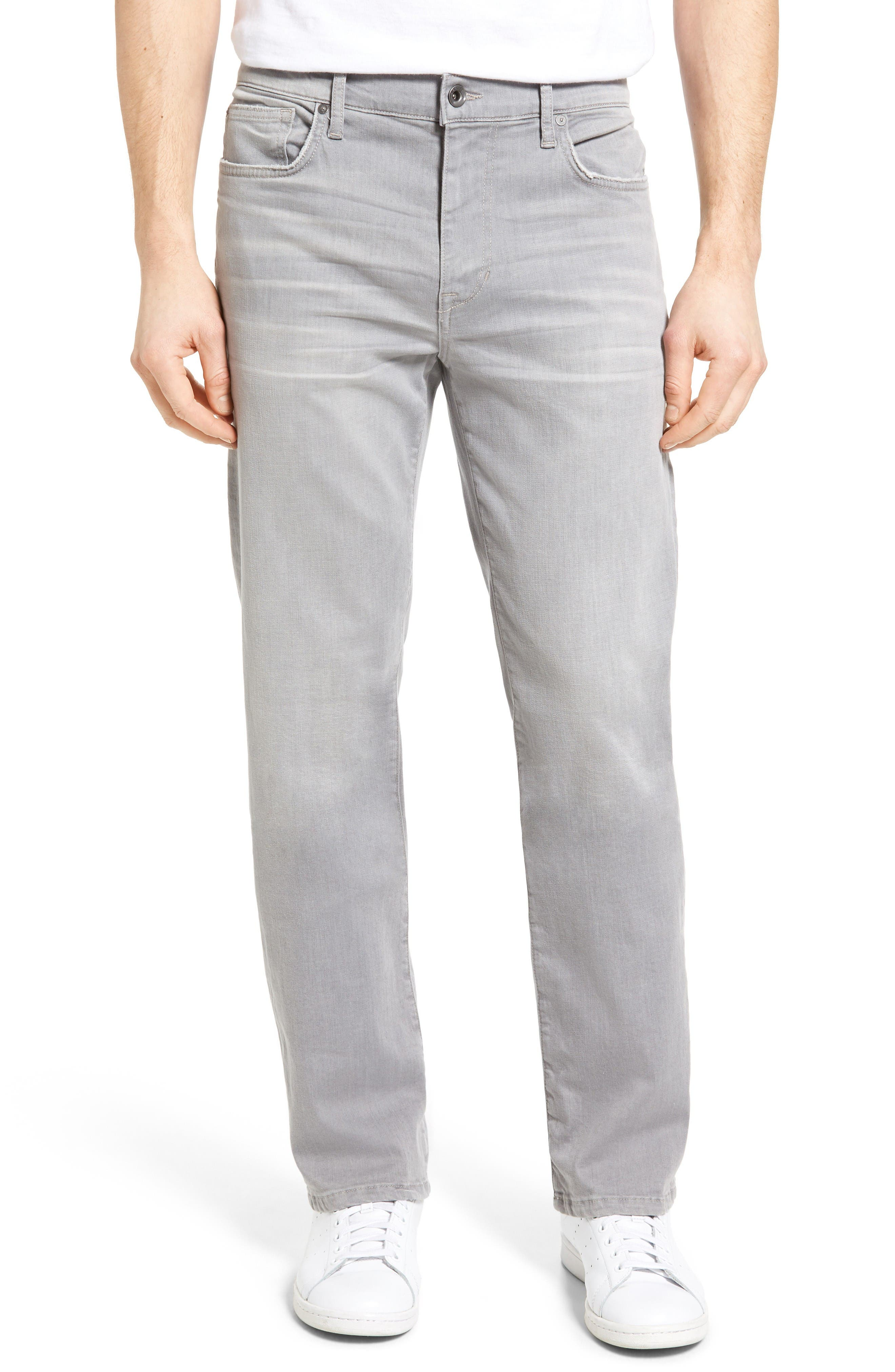 Classic Straight Leg Jeans,                             Main thumbnail 1, color,                             Wolfe